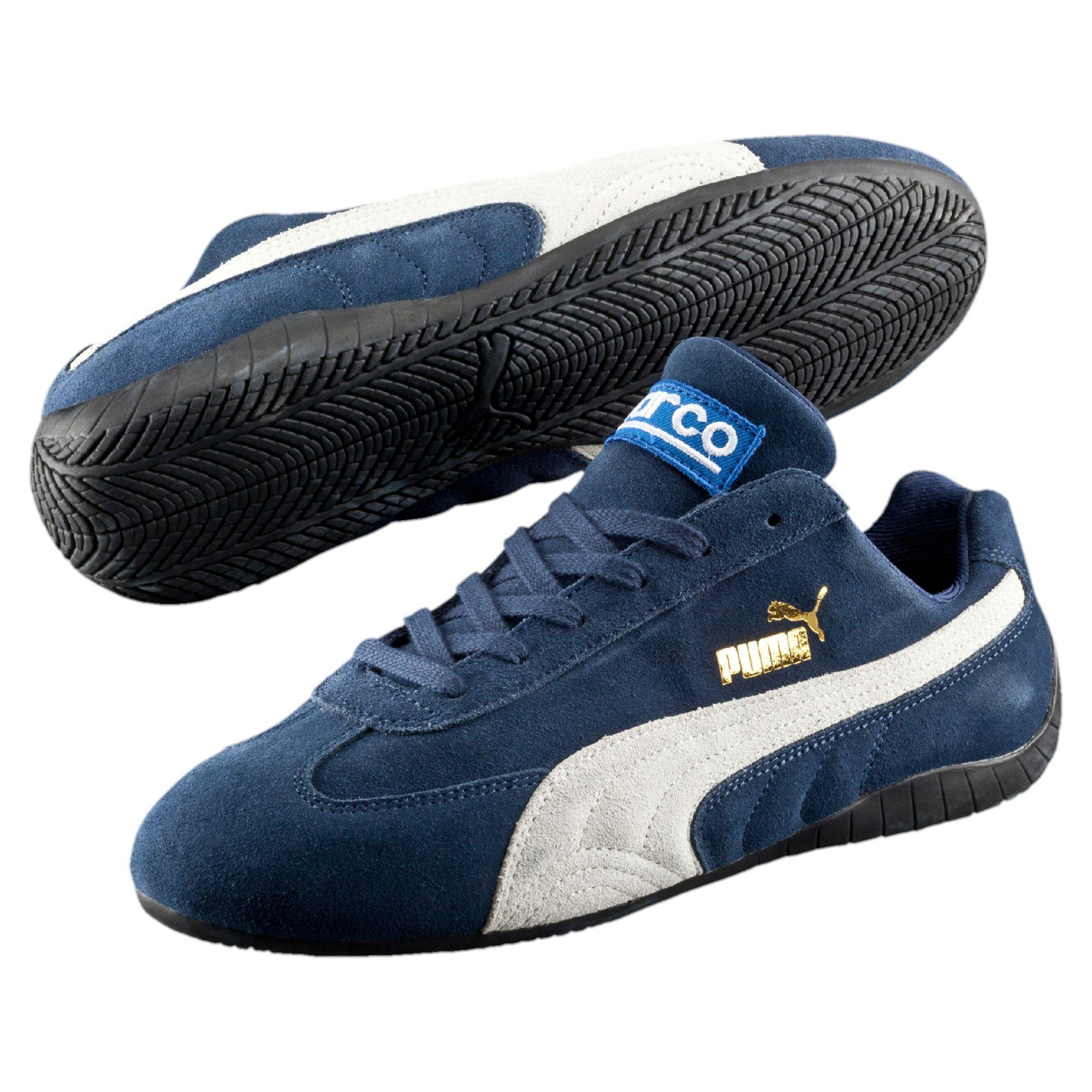 72b5022f5927 ... best price lyst puma speed cat sparco shoes in blue for men d48a9 c1472