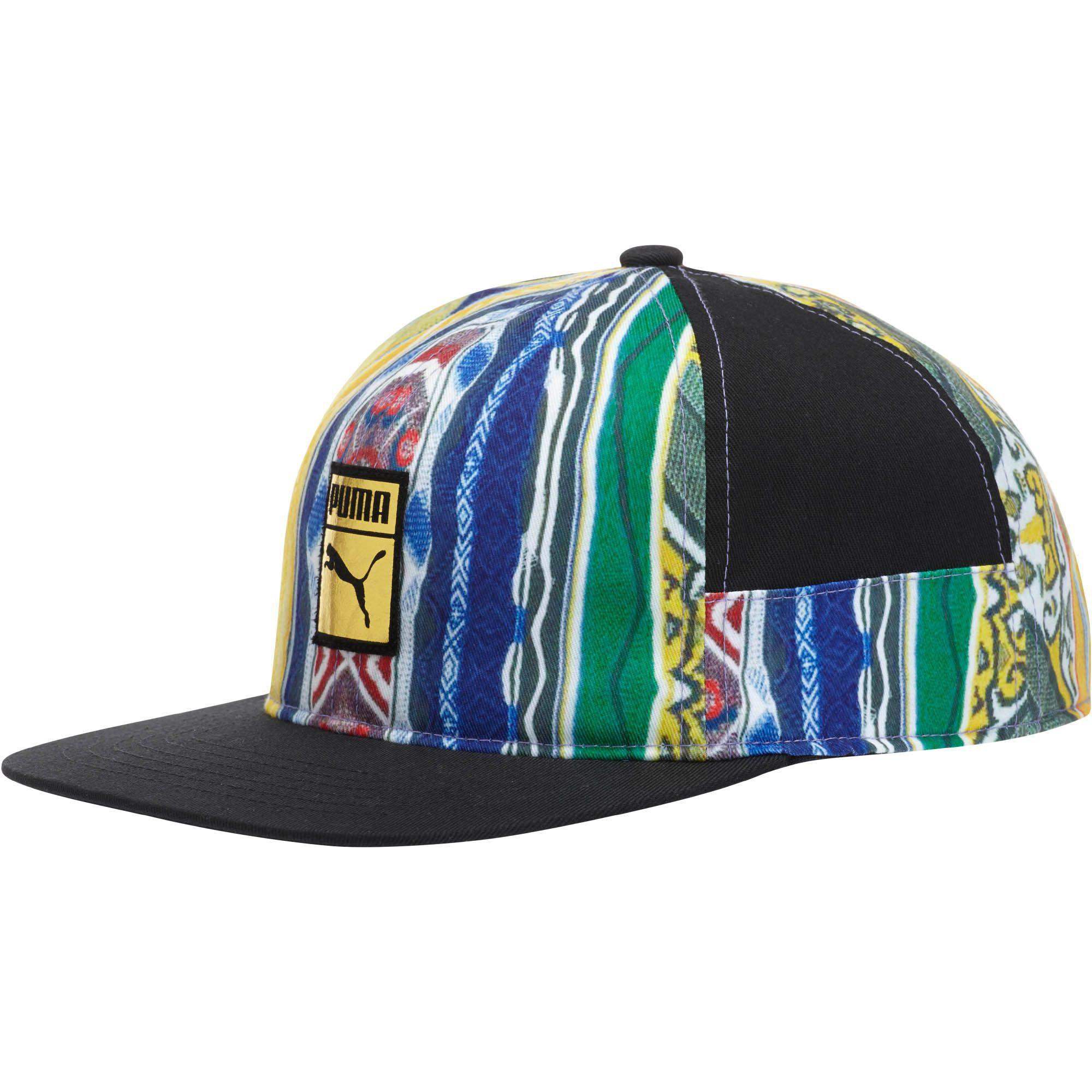 3a080f10269 Lyst - PUMA Coogi Colorblock Hat in Black for Men