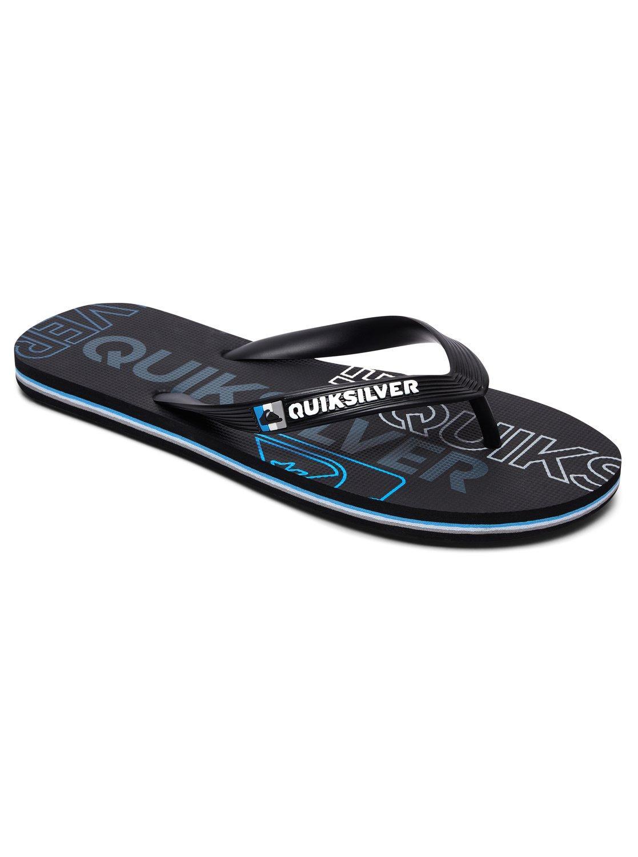 d3bc00d1e949 Quiksilver - Black Flip-flops for Men - Lyst. View fullscreen