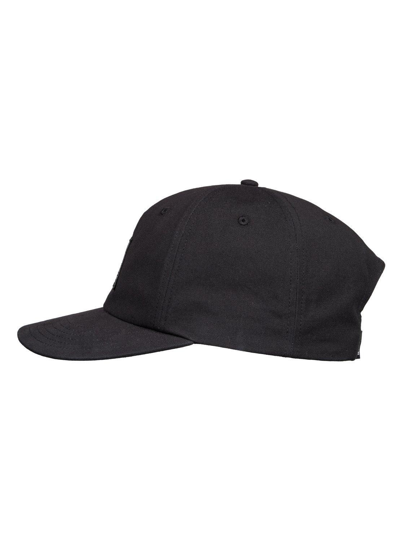 super popular 8dee3 13140 Quiksilver - Black Snapback Cap for Men - Lyst. View fullscreen