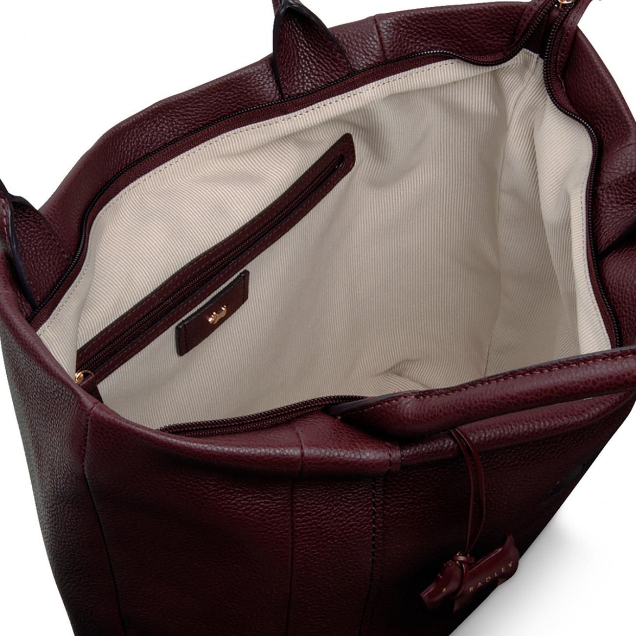 54a8ec4532 Radley Blickling Hall Large Zip-top Shoulder Bag - Lyst