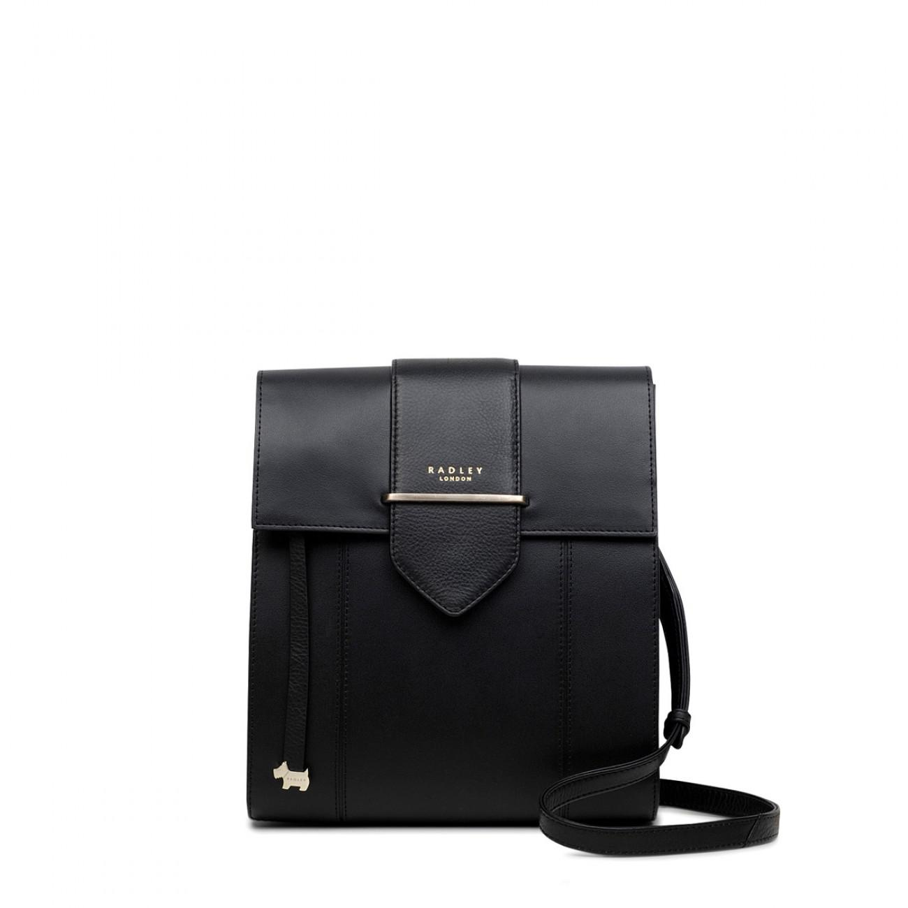 Radley Palace Street Large Flapover Cross Body Bag in Black - Lyst 920a80108a