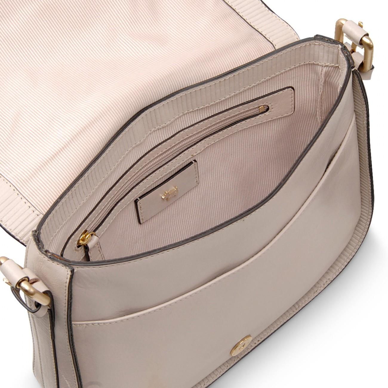 Radley - Gray Painters Mews Medium Flapover Cross Body Bag - Lyst. View  fullscreen 5939c81416