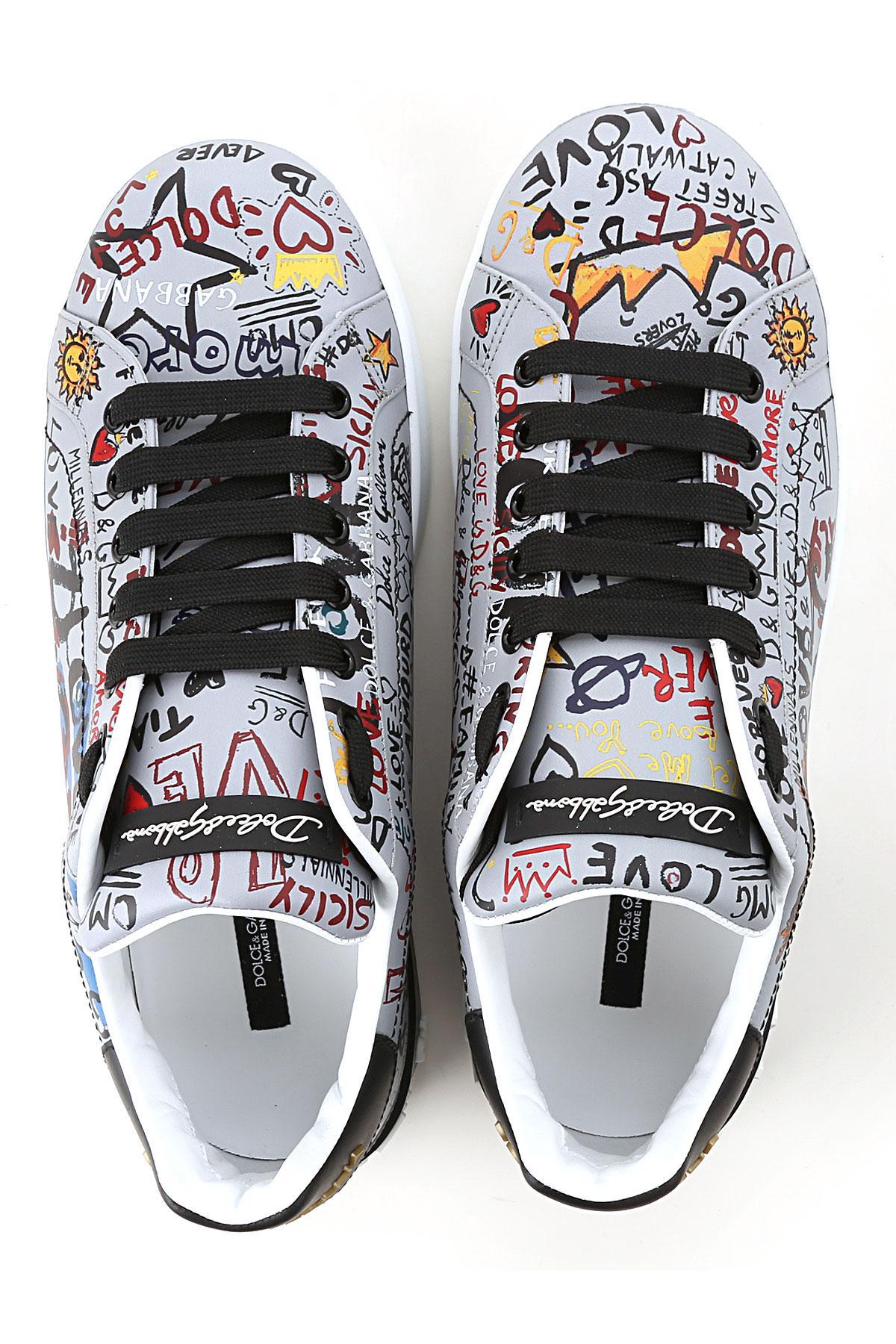 60f8b20ed824a Lyst - Sneaker Homme Pas cher en Soldes Dolce   Gabbana pour homme ...