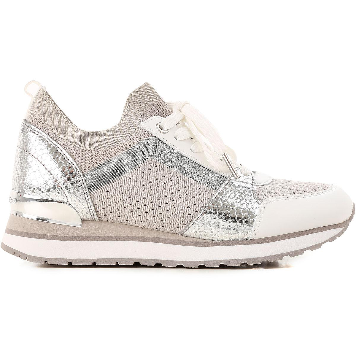 7fdfb86c3d6 Lyst - Sneaker Femme Pas cher en Soldes Michael Kors en coloris Blanc