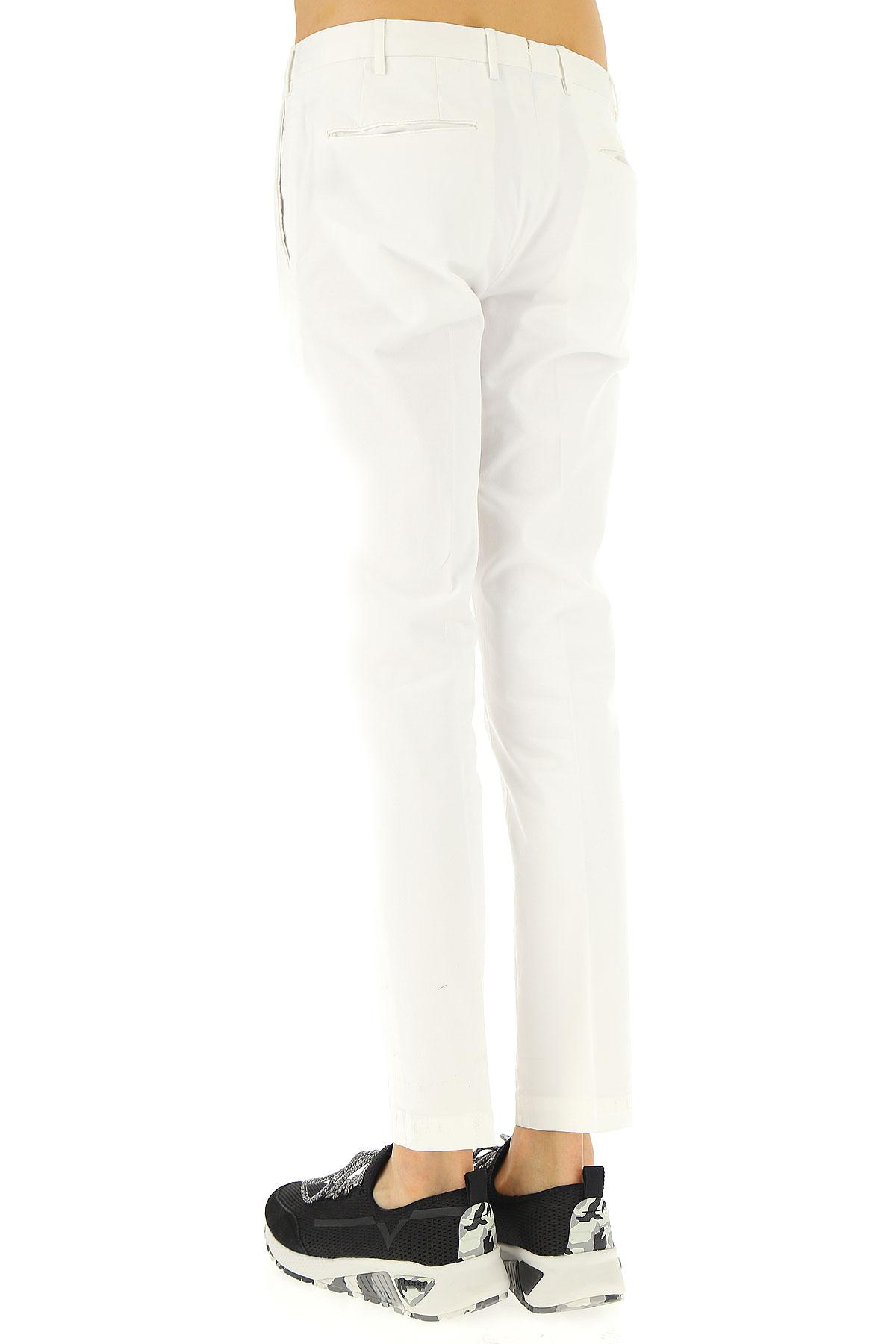 54f2275b7cf9 Lyst - PT01 Pants For Men On Sale in White for Men - Save 5%