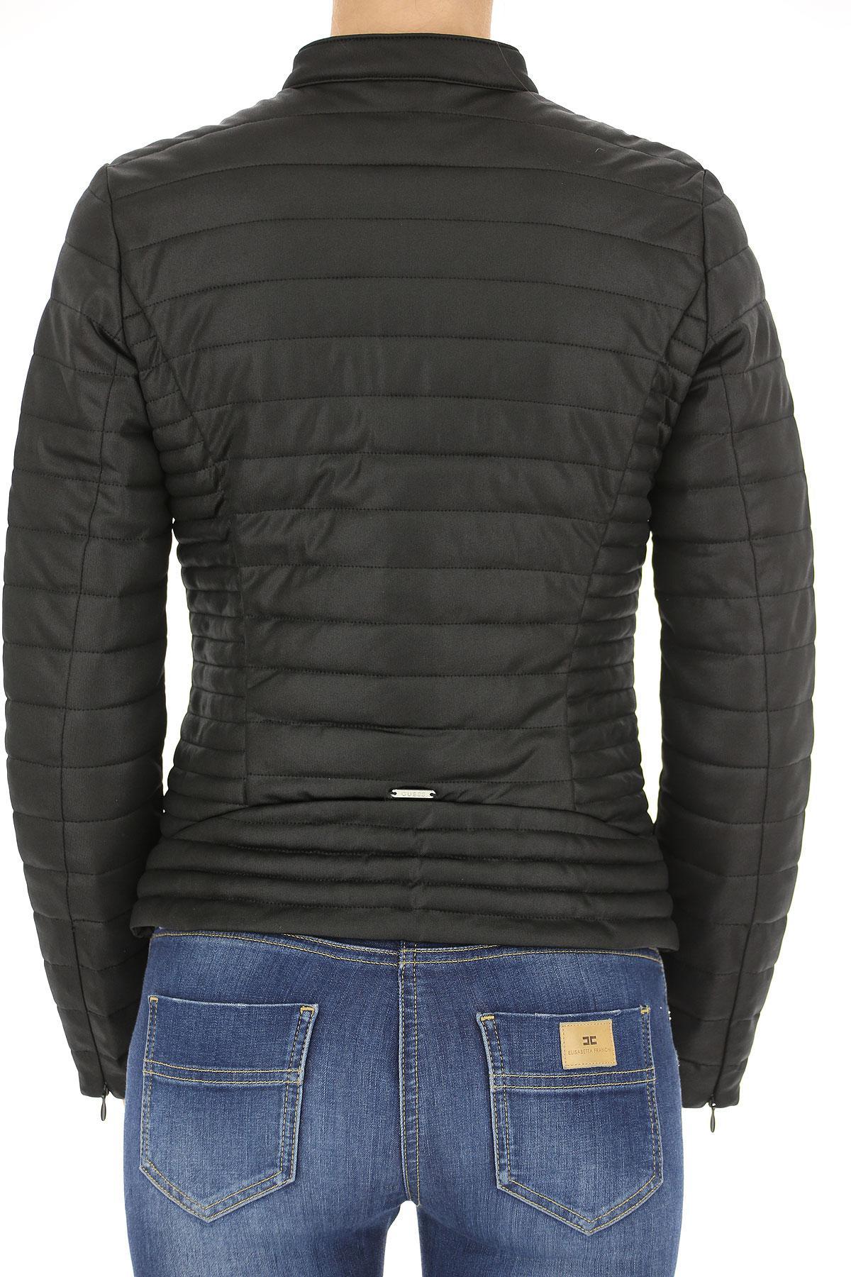 Lyst - Veste Femme Pas cher en Soldes Guess en coloris Noir 9337c8a8b5d
