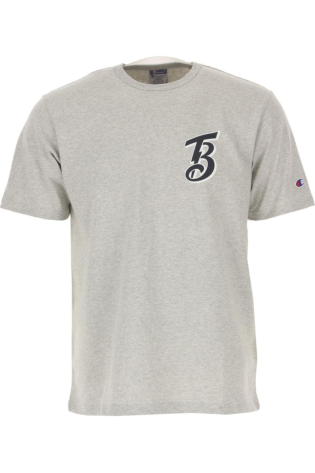 c3587f5e3a4e Lyst - Champion T-shirt For Men On Sale in Gray for Men