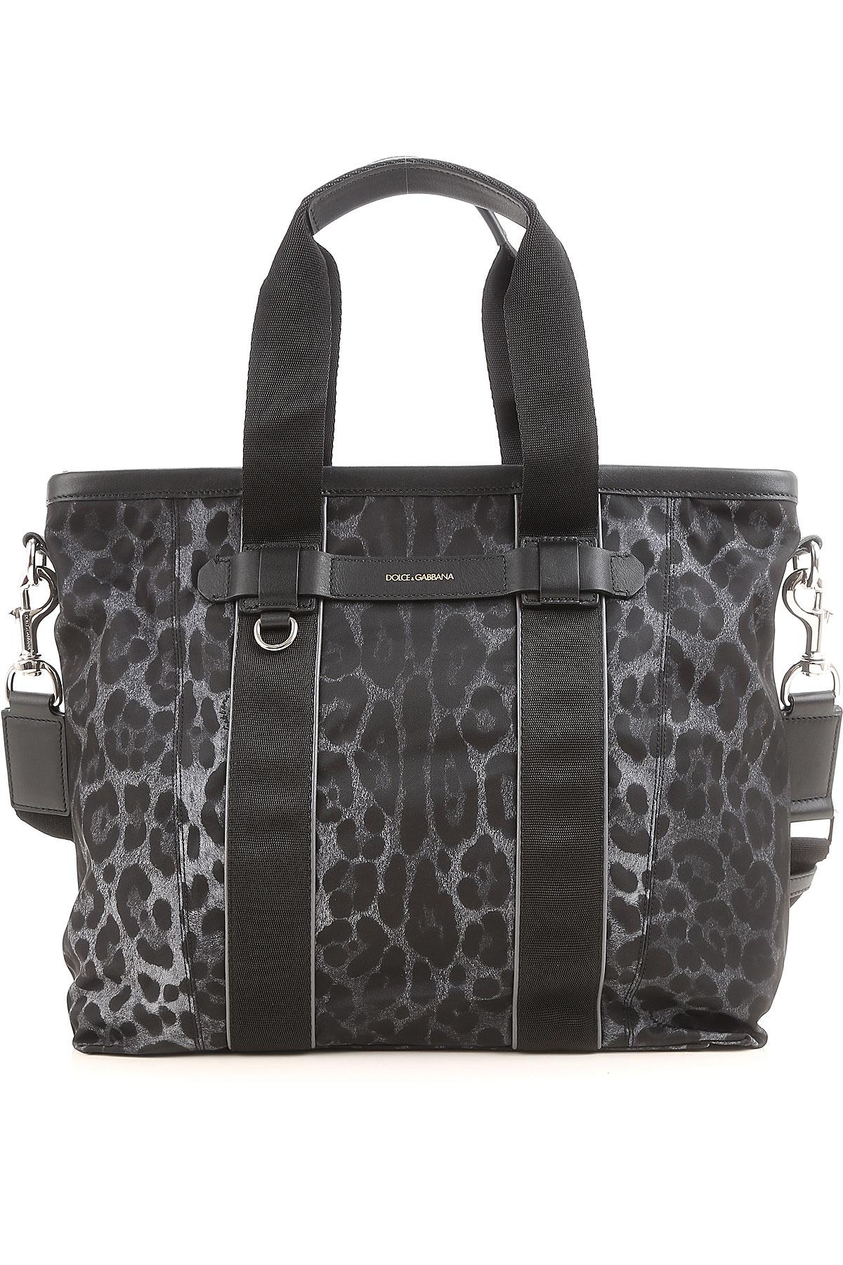 afe0b8fb6c91 Lyst - Dolce   Gabbana Totes On Sale In Outlet in Gray for Men