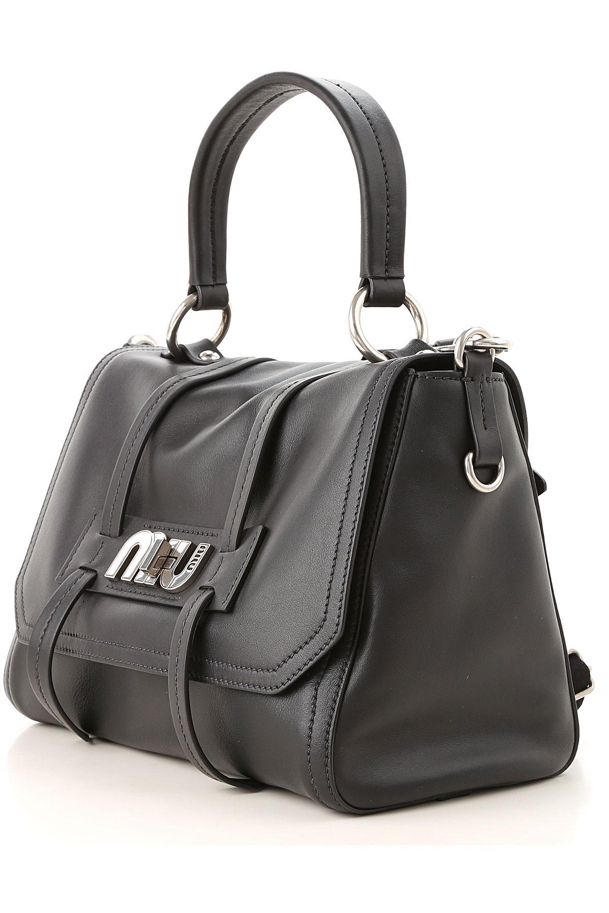 e30cc886c4 Miu Miu Handbags in Black - Lyst