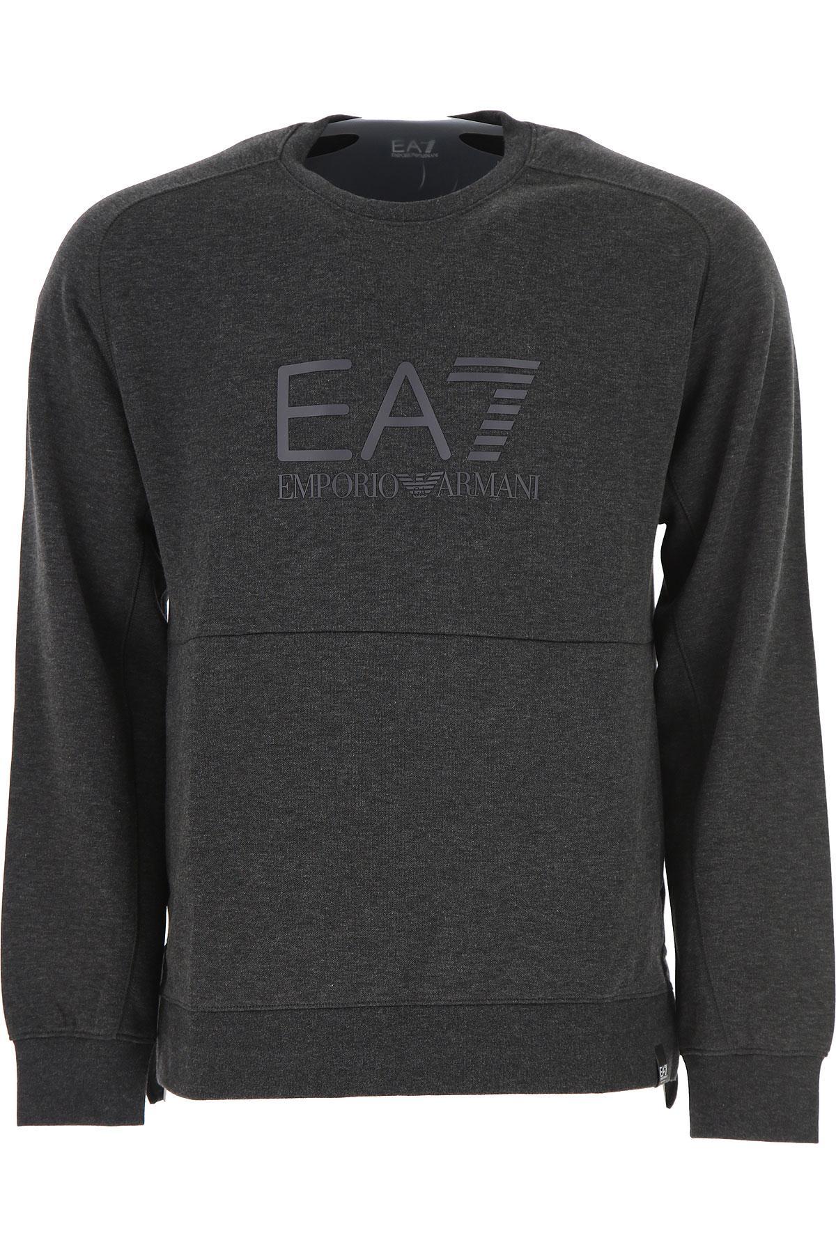 1941b9e7f7bc0 Lyst - Emporio Armani Sweatshirt For Men On Sale in Gray for Men