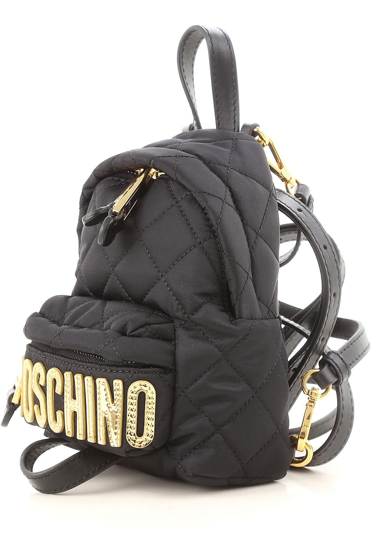fa258dd8b2 Lyst - Moschino Backpack For Women On Sale in Black - Save ...
