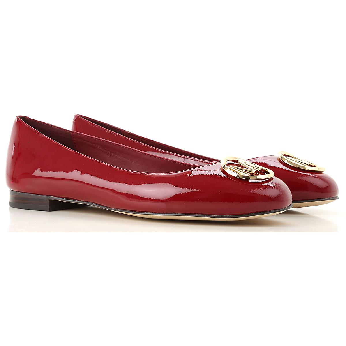 cbb814a62c785 Michael Kors Ballet Flats Ballerina Shoes For Women in Red - Lyst