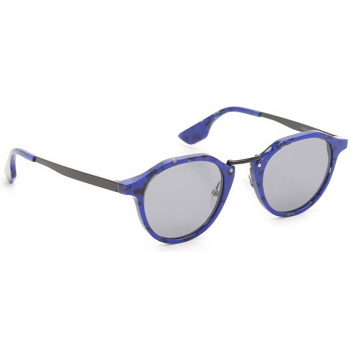 043c4a757c9e8 Lyst - Gafas y Lentes de Sol Baratos en Rebajas McQ de color Azul ...