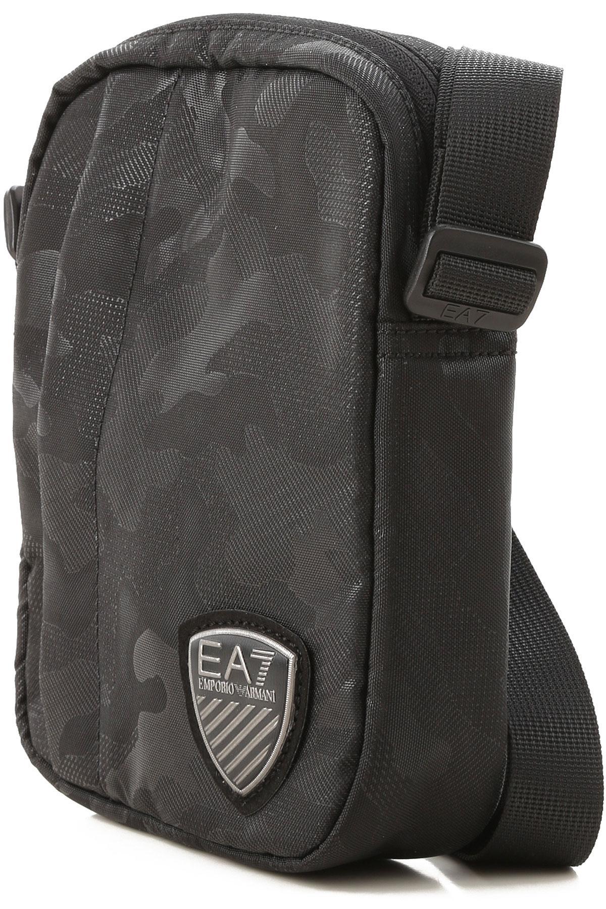 Emporio Armani - Black Messenger Bag For Men for Men - Lyst. View fullscreen 11b2e2ec425bf