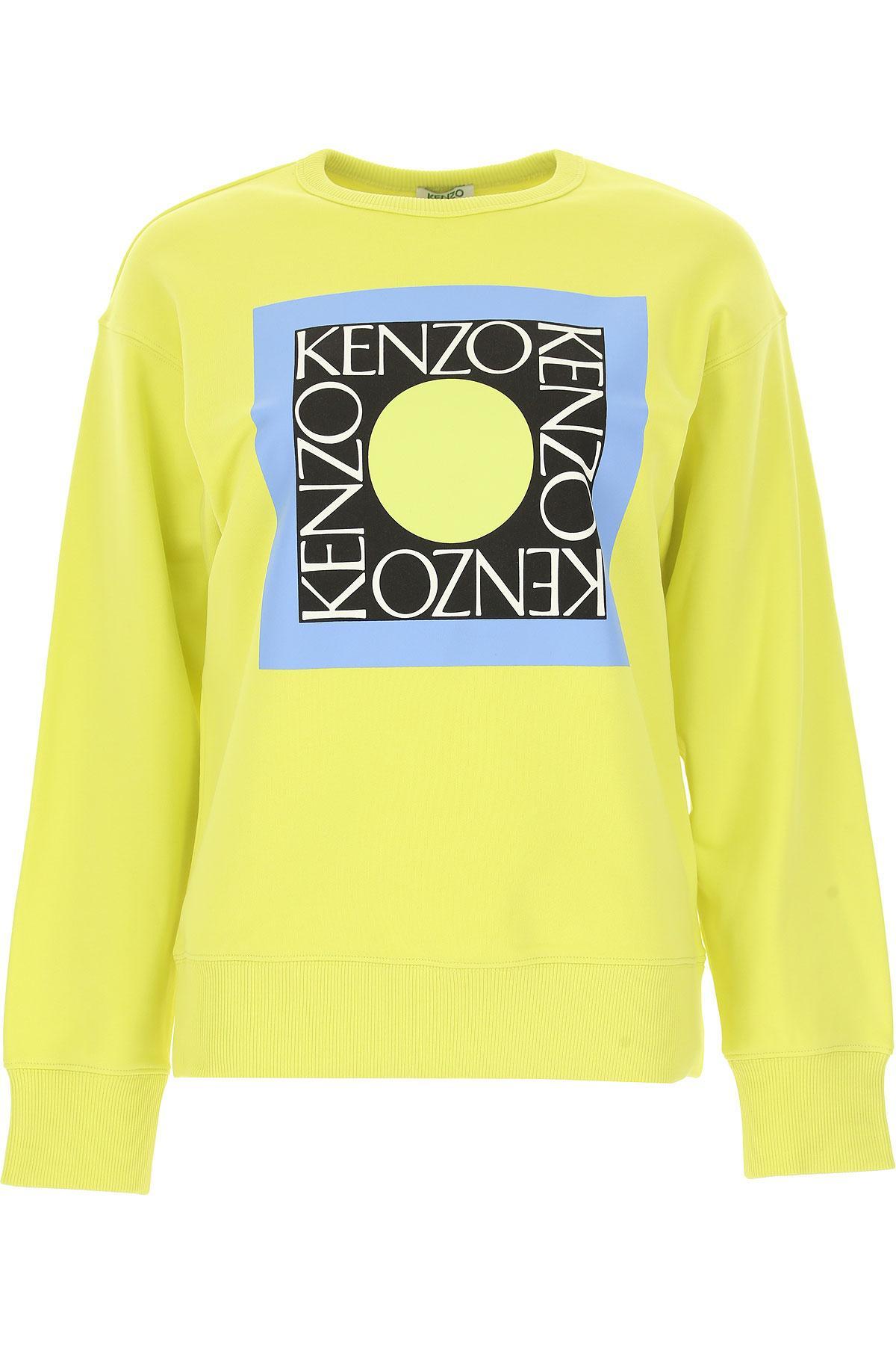 KENZO - Yellow Sweater For Women Jumper - Lyst. View fullscreen 530dbec958