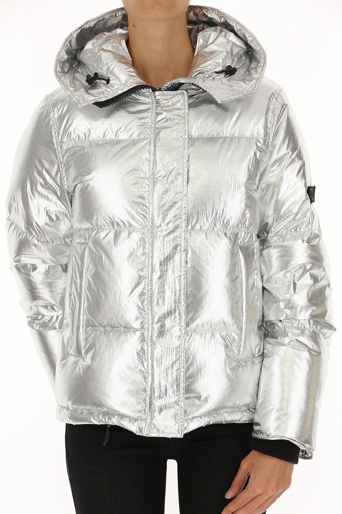 Lyst - Abrigo de Plumas para Mujer KENZO de color Metálico d2a6da05259d