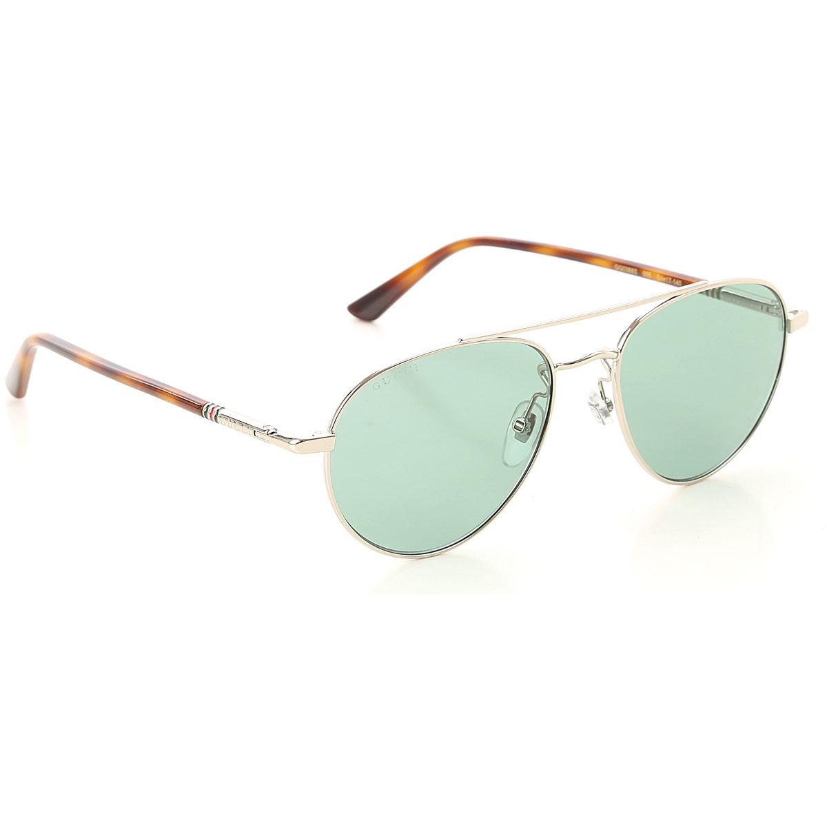 80383dbcd5 Lyst - Gucci Sunglasses in Metallic for Men