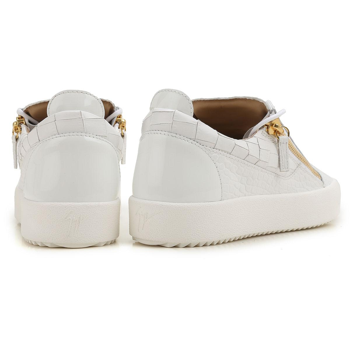 92805f5f901 Giuseppe Zanotti - White Sneakers For Men On Sale for Men - Lyst. View  fullscreen