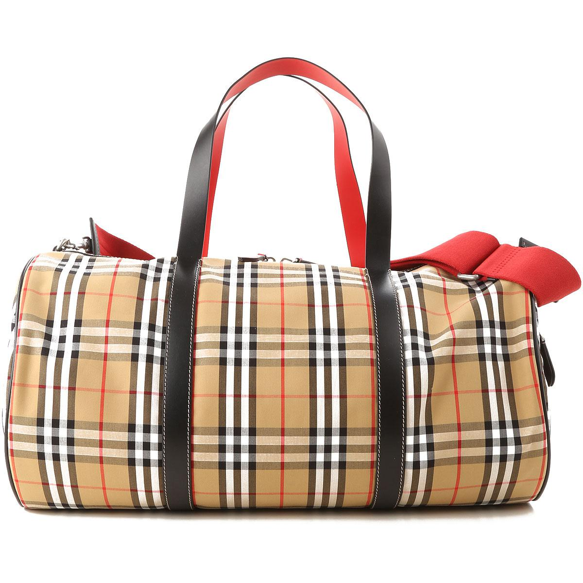 b26ab6c3b6b7 Lyst - Burberry Weekender Duffel Bag For Men On Sale in Natural for Men