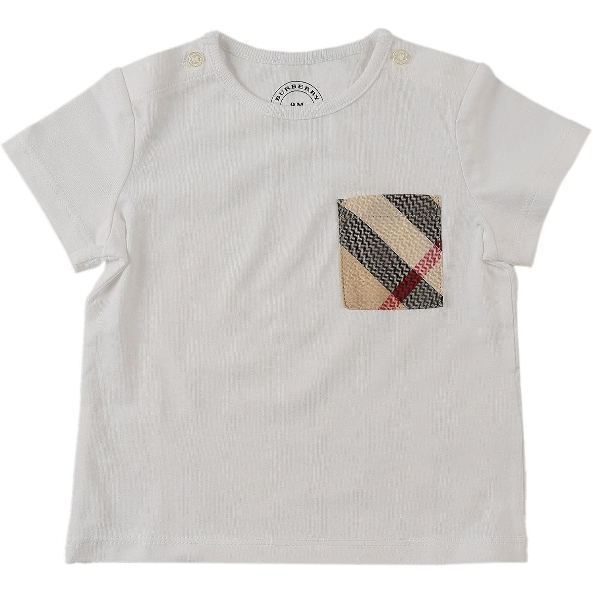 8e021e47ac7ee Lyst - Burberry Baby T-shirt For Boys in White for Men