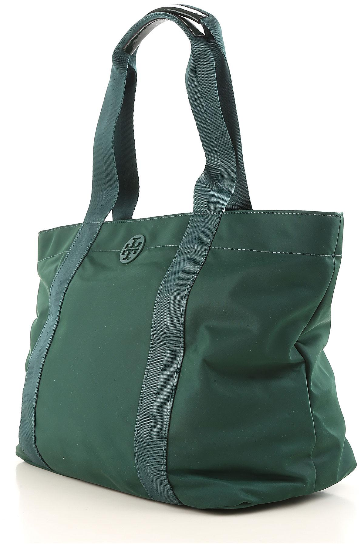 Lyst - Tory Burch Tote Bag On Sale In Outlet in Green e46f3aea980d