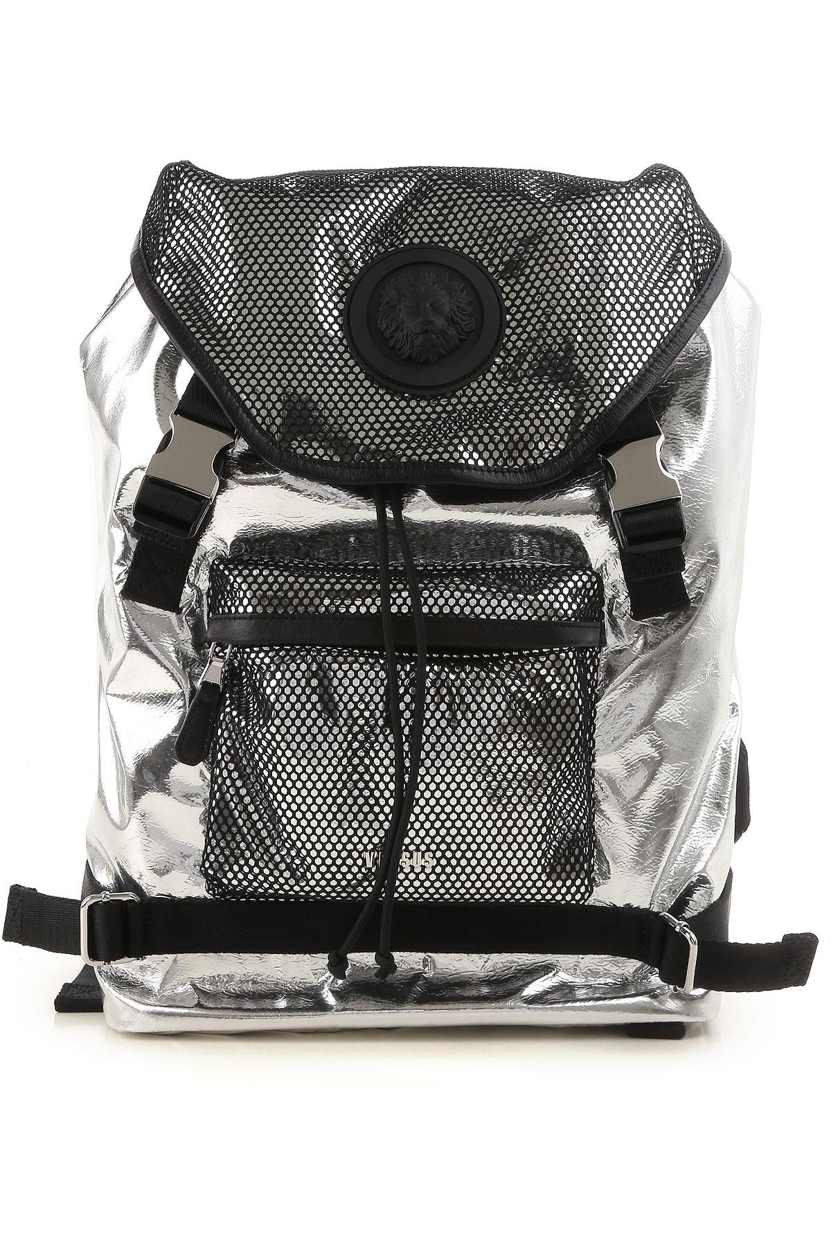 cd10f59a4b Lyst - Versace Backpack For Men On Sale In Outlet in Metallic for Men