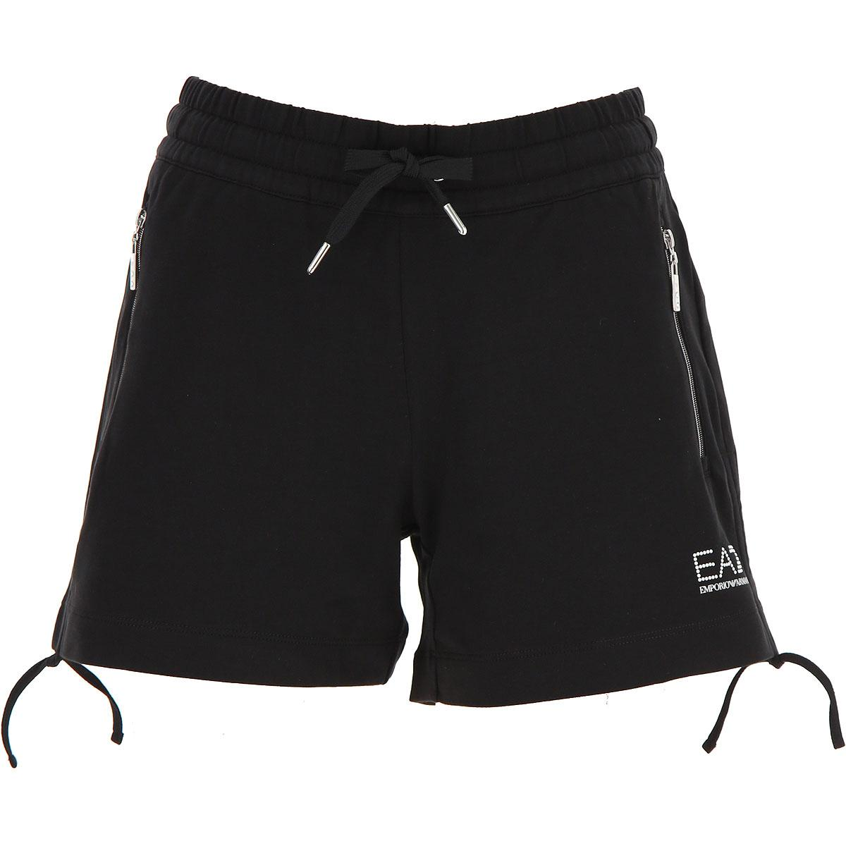 cef87e8440 Emporio Armani Shorts For Women in Black - Lyst