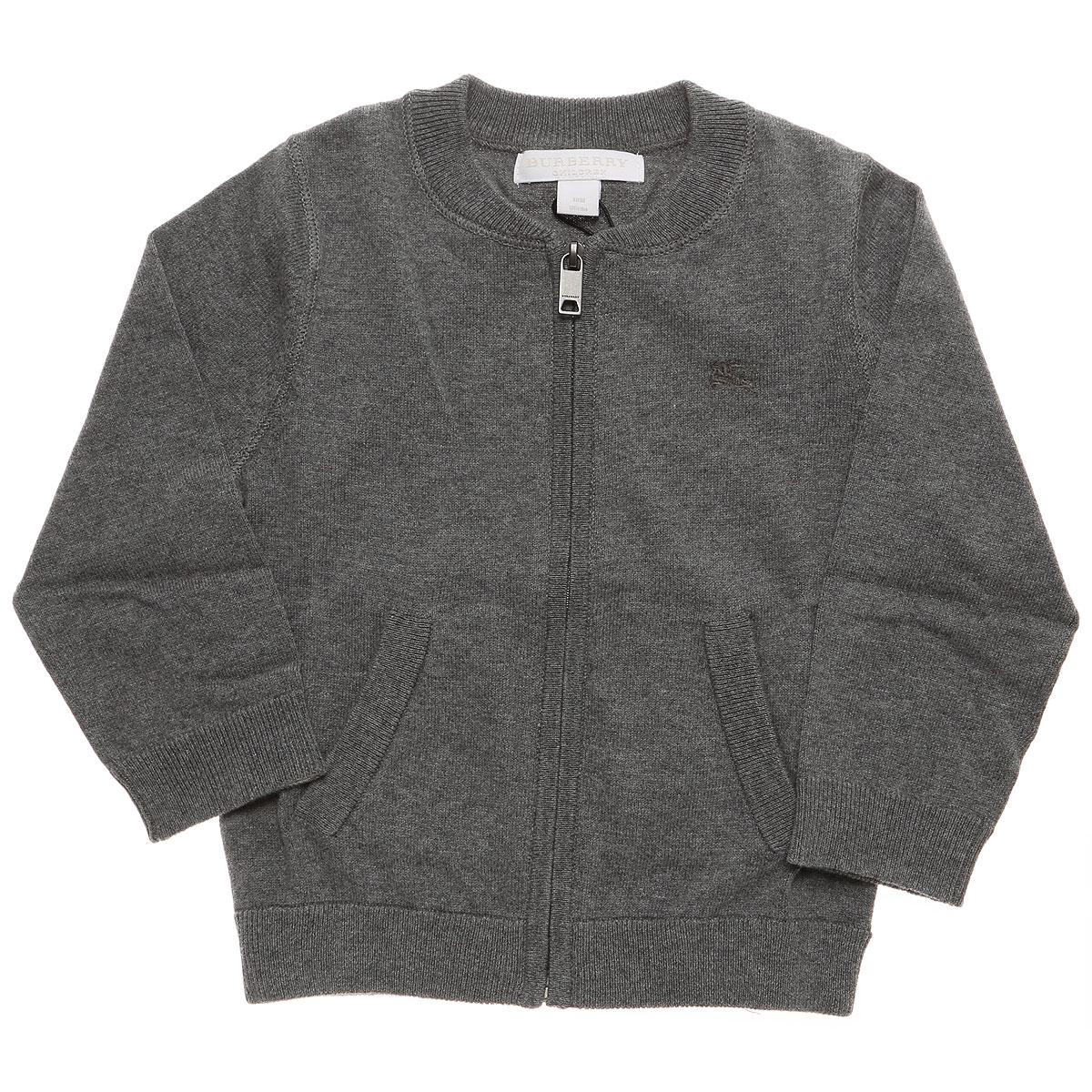 fac81966dd73 Lyst - Burberry Baby Sweaters For Boys On Sale In Outlet in Gray for Men