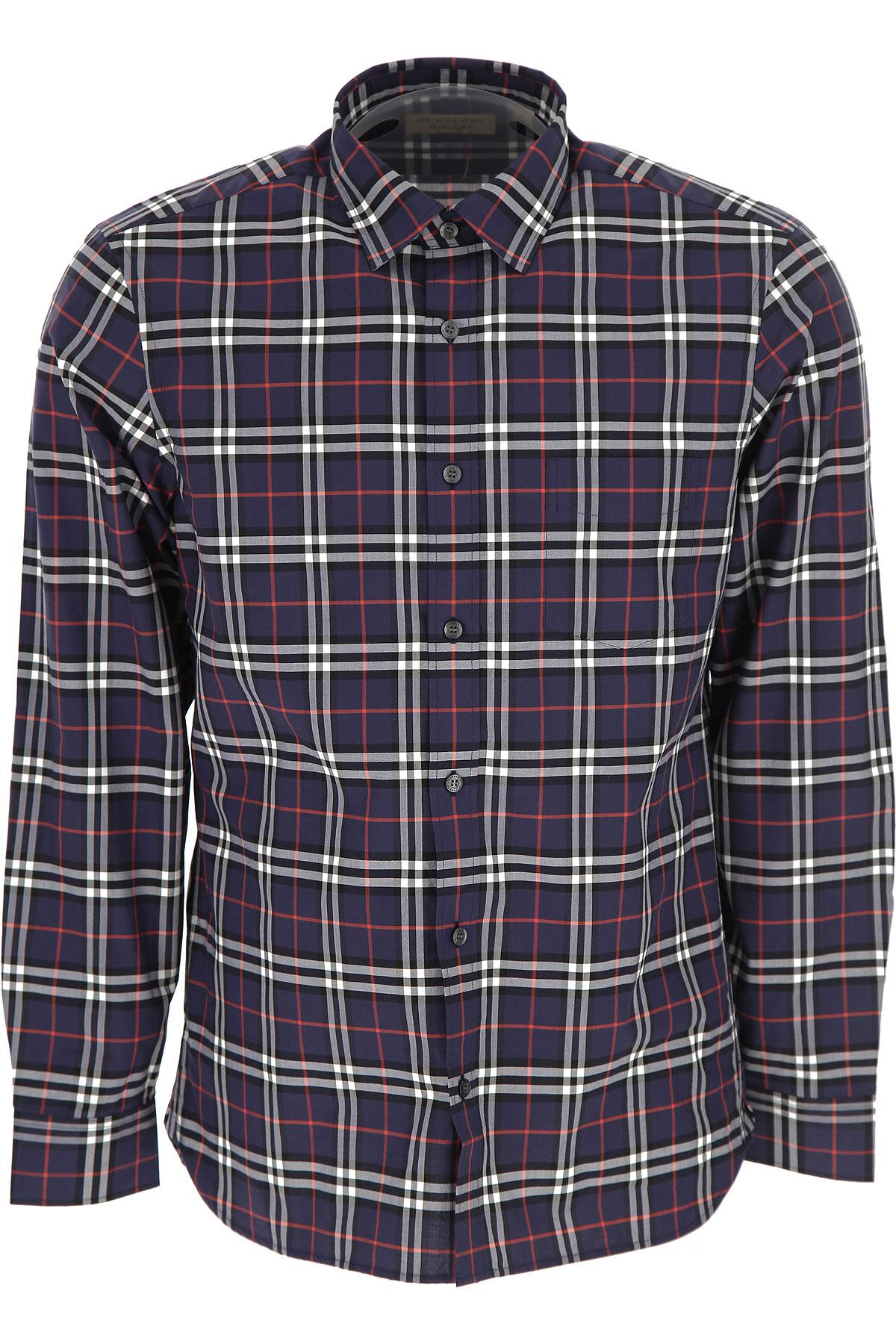 Lyst Burberry Mens Clothing On Sale In Blue For Men