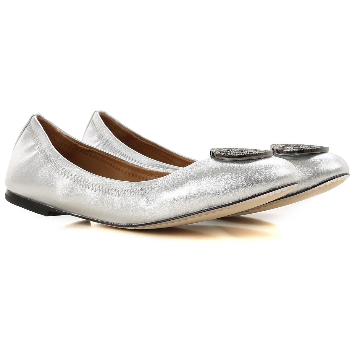 23520a523 Lyst - Tory Burch Ballet Flats Ballerina Shoes For Women in Metallic