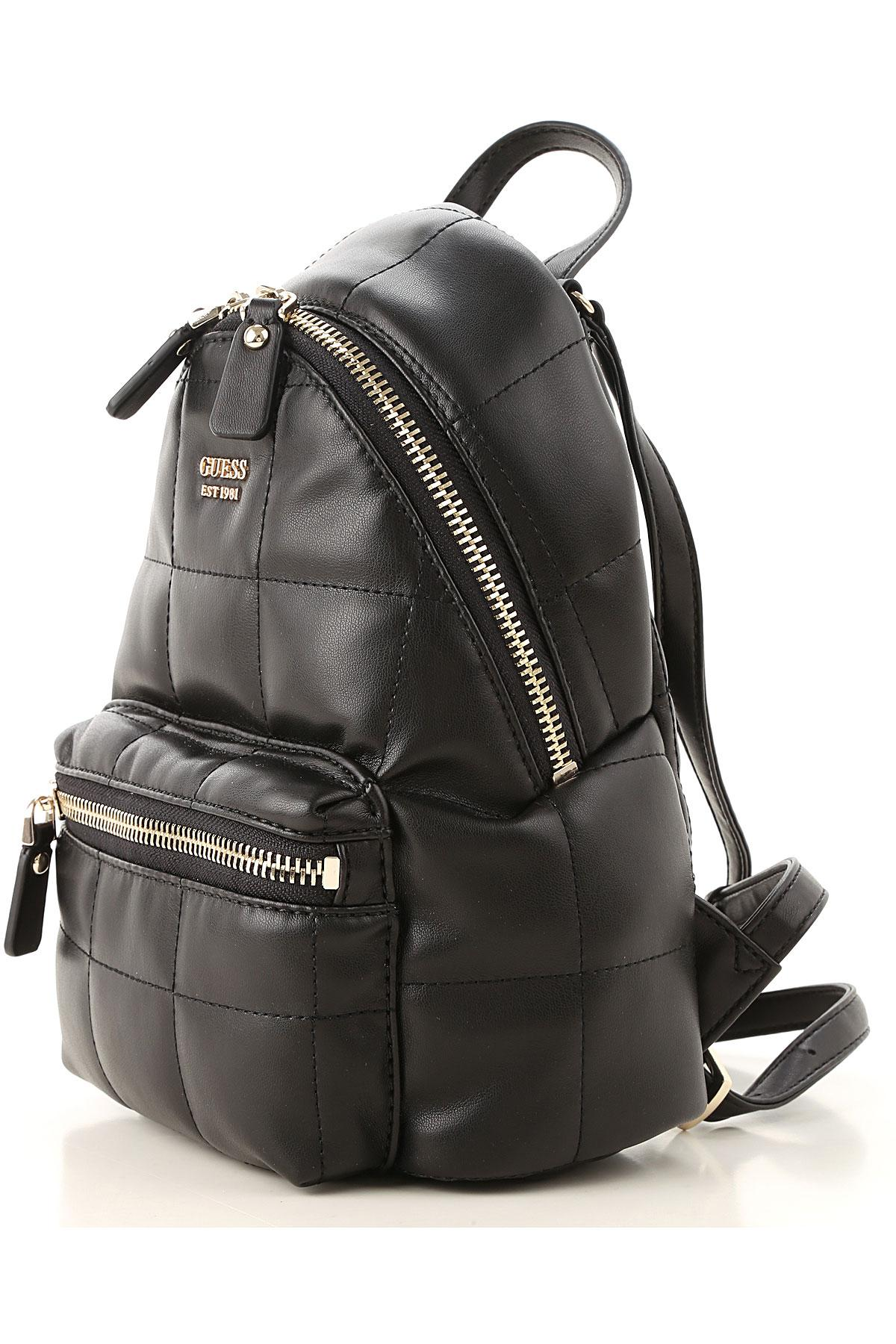 Guess Backpack For Women in Black - Lyst