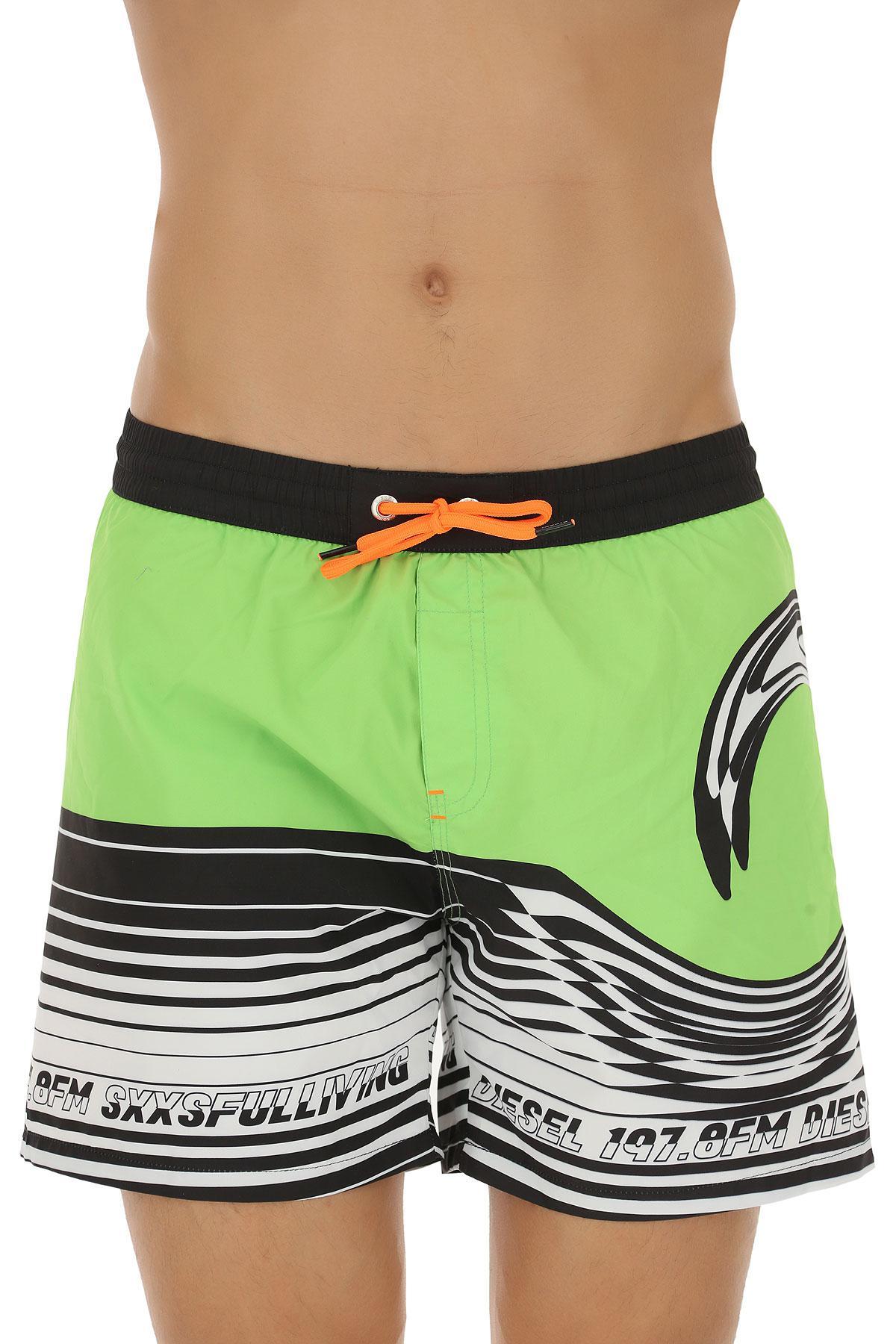 8592f5090e Lyst - DIESEL Swimwear For Men in Green for Men - Save 28%