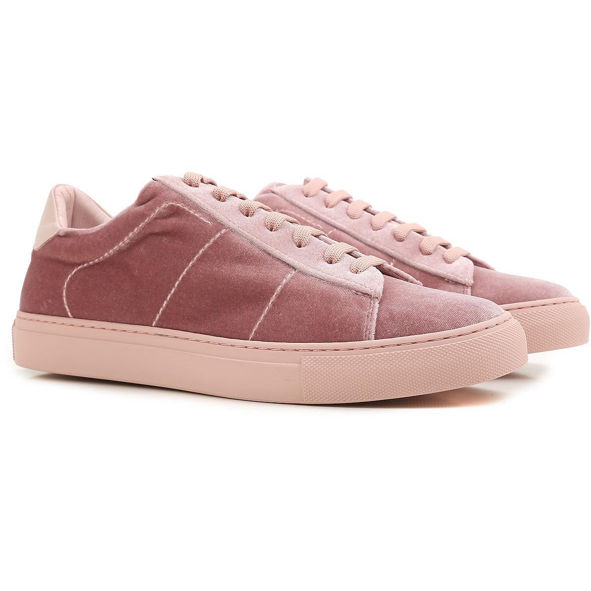Chaussures De Sport En Velours Dondup L39ikY0k2R