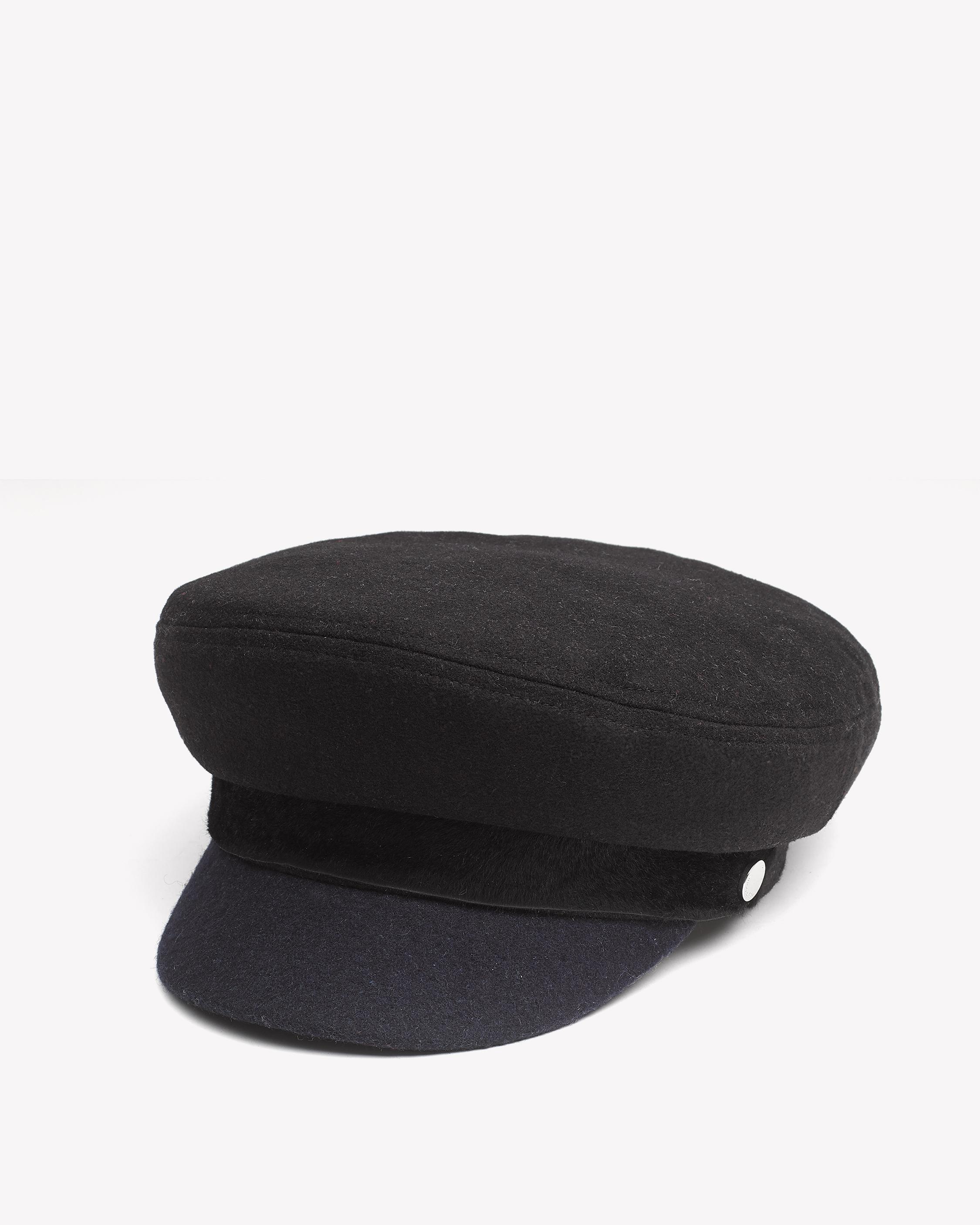 4a9a2aa5afa Lyst - Rag   Bone Fisherman Cap in Black