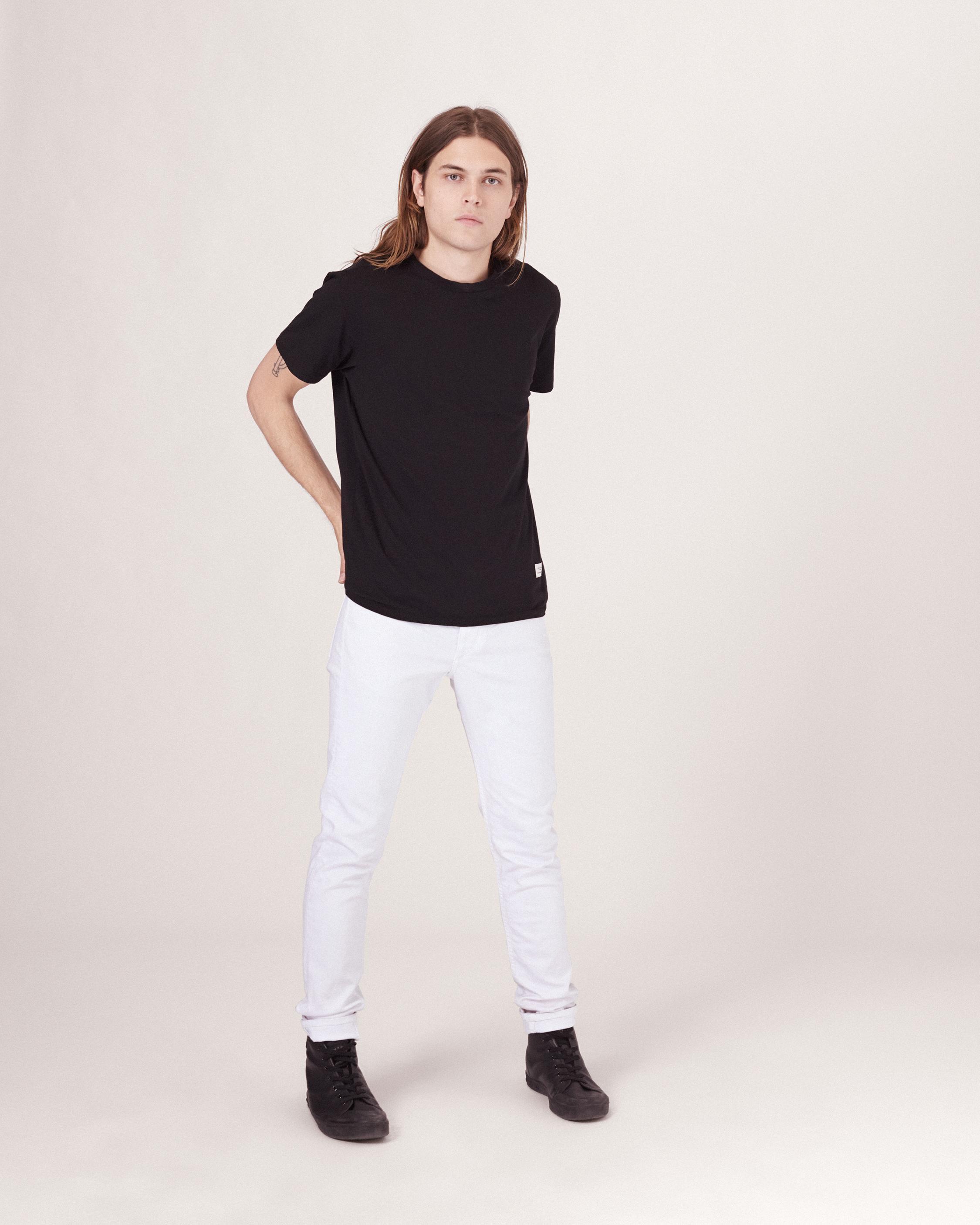 Lyst Rag Bone Fit 1 Extra Slim Jean In White For Men