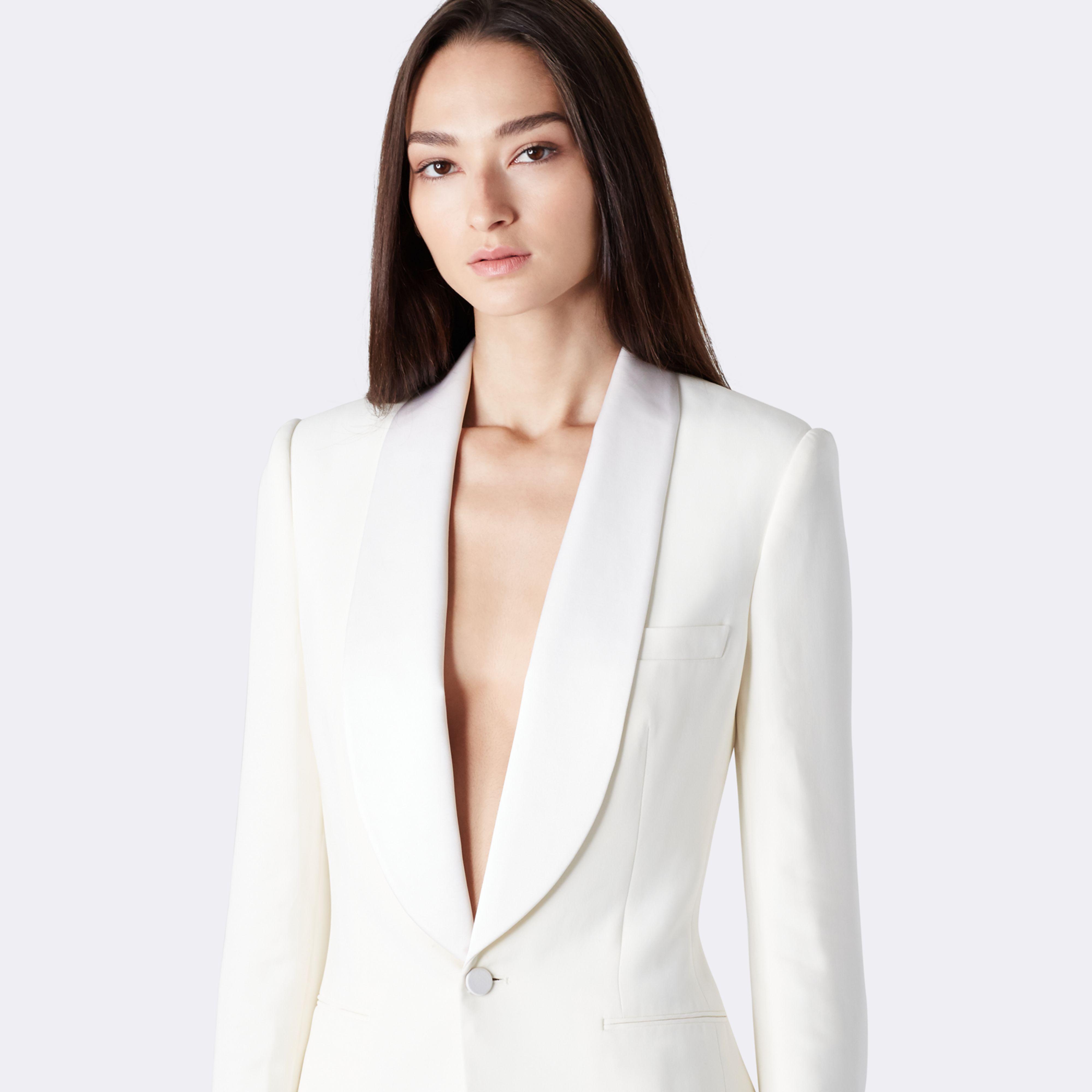 Womens cream dinner jacket