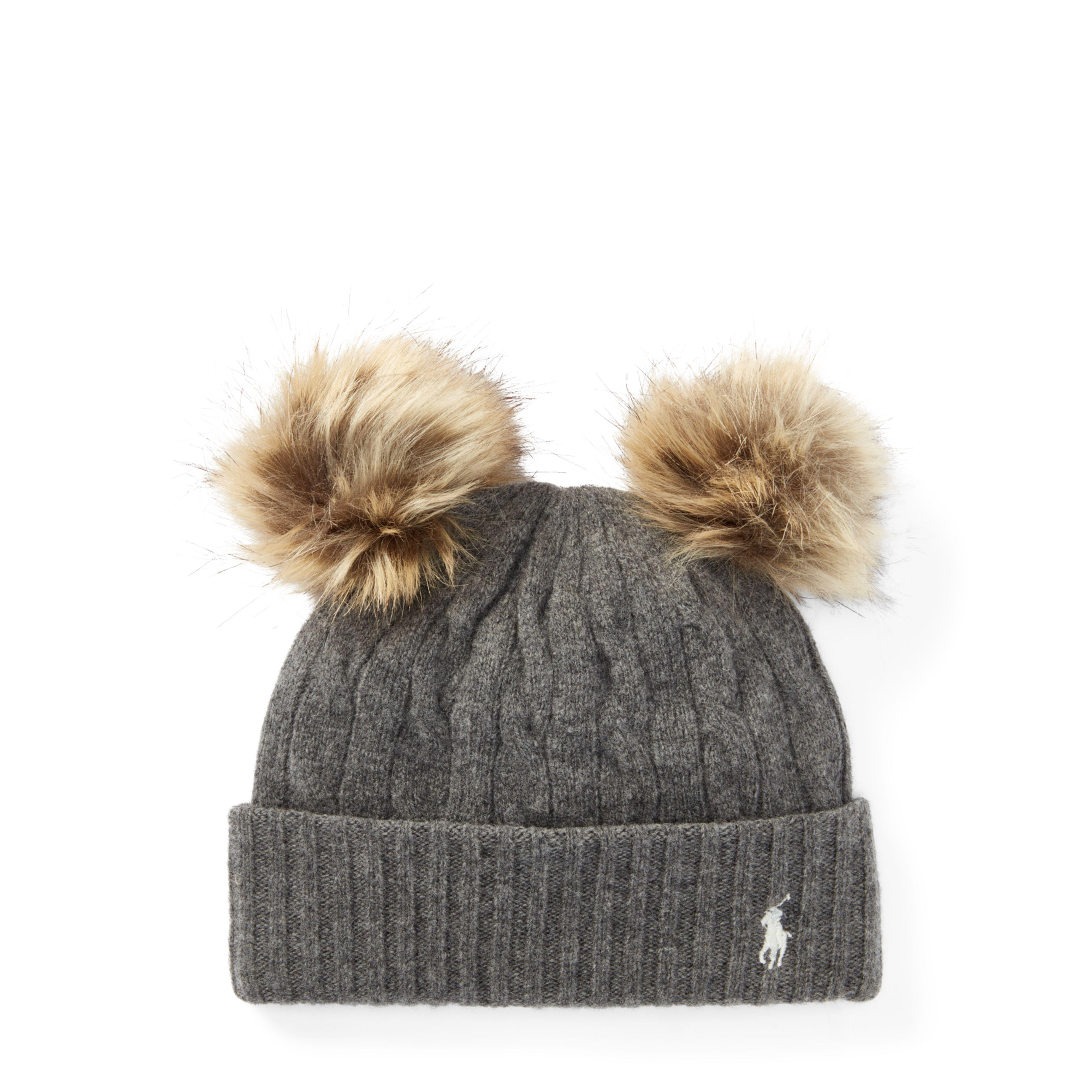 Lyst - Polo Ralph Lauren Double-pom-pom Wool Hat 570f649b84a