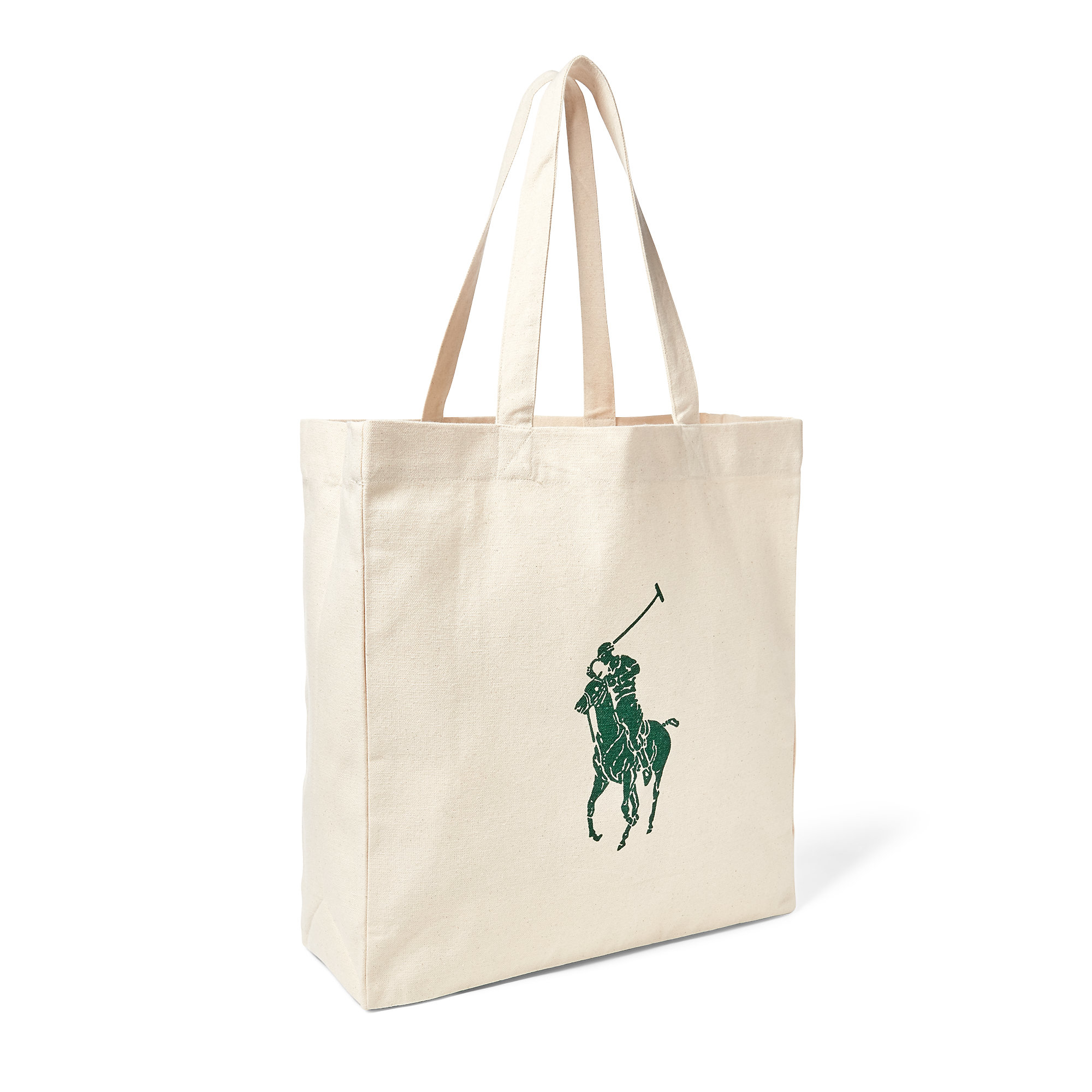 02a05e8798 ... where to buy lyst polo ralph lauren waterkeeper canvas tote in natural  06411 85d8c