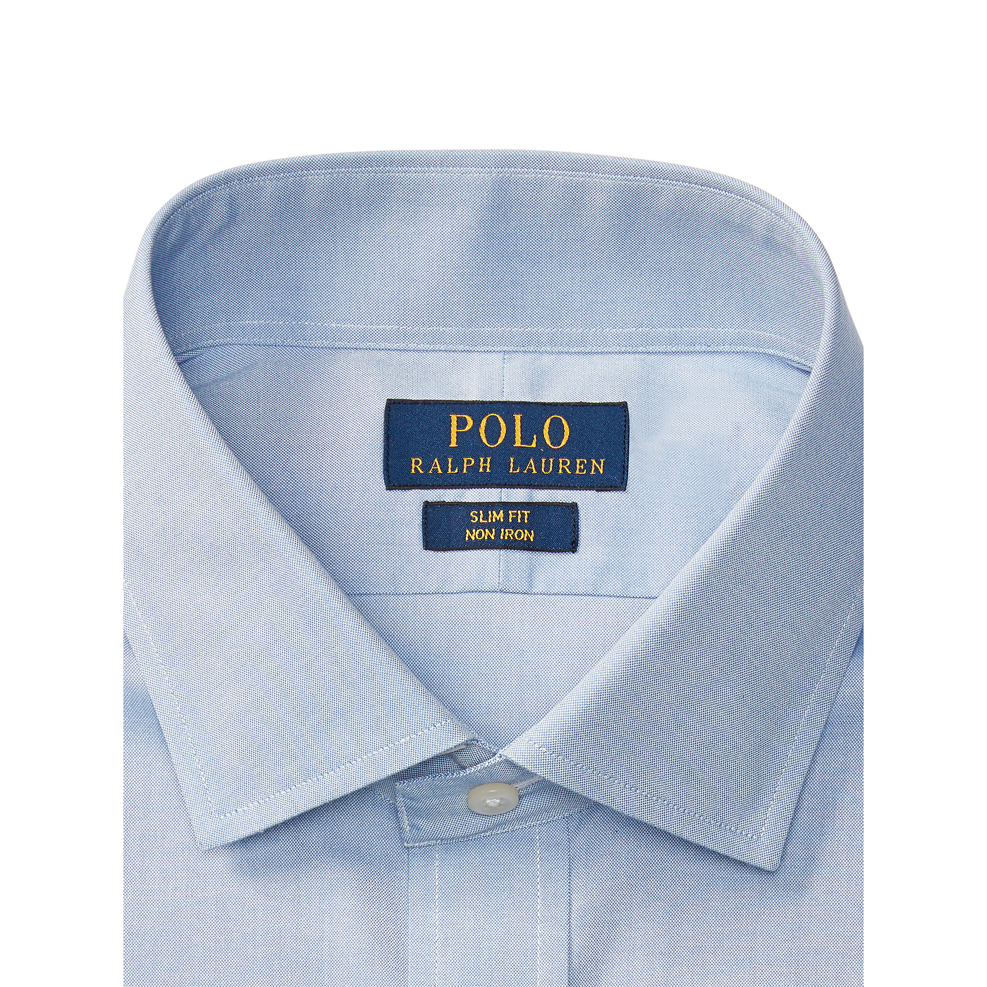 Gold Label Roundtree Yorke Non Iron Ed Point Collar Solid Dress Shirt