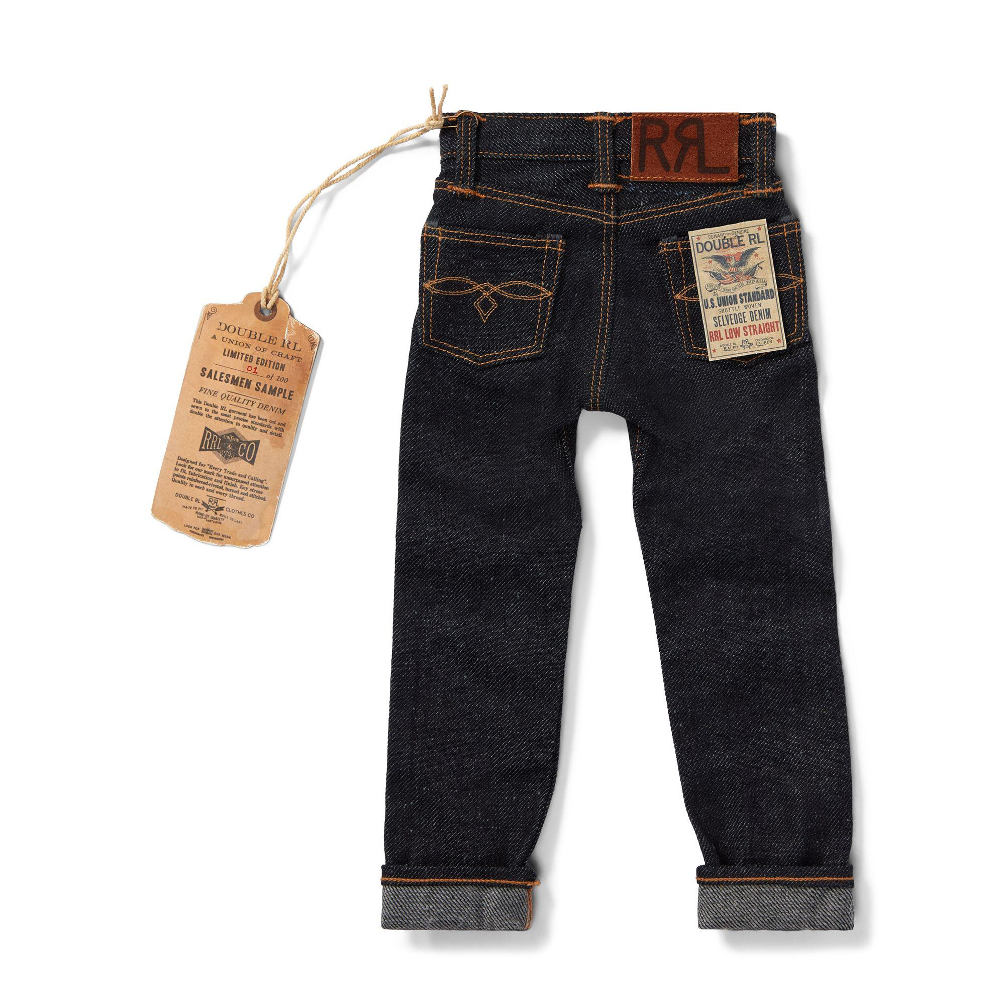 7ba0270fcd587 Lyst - Rrl Limited-edition Mini Jean for Men