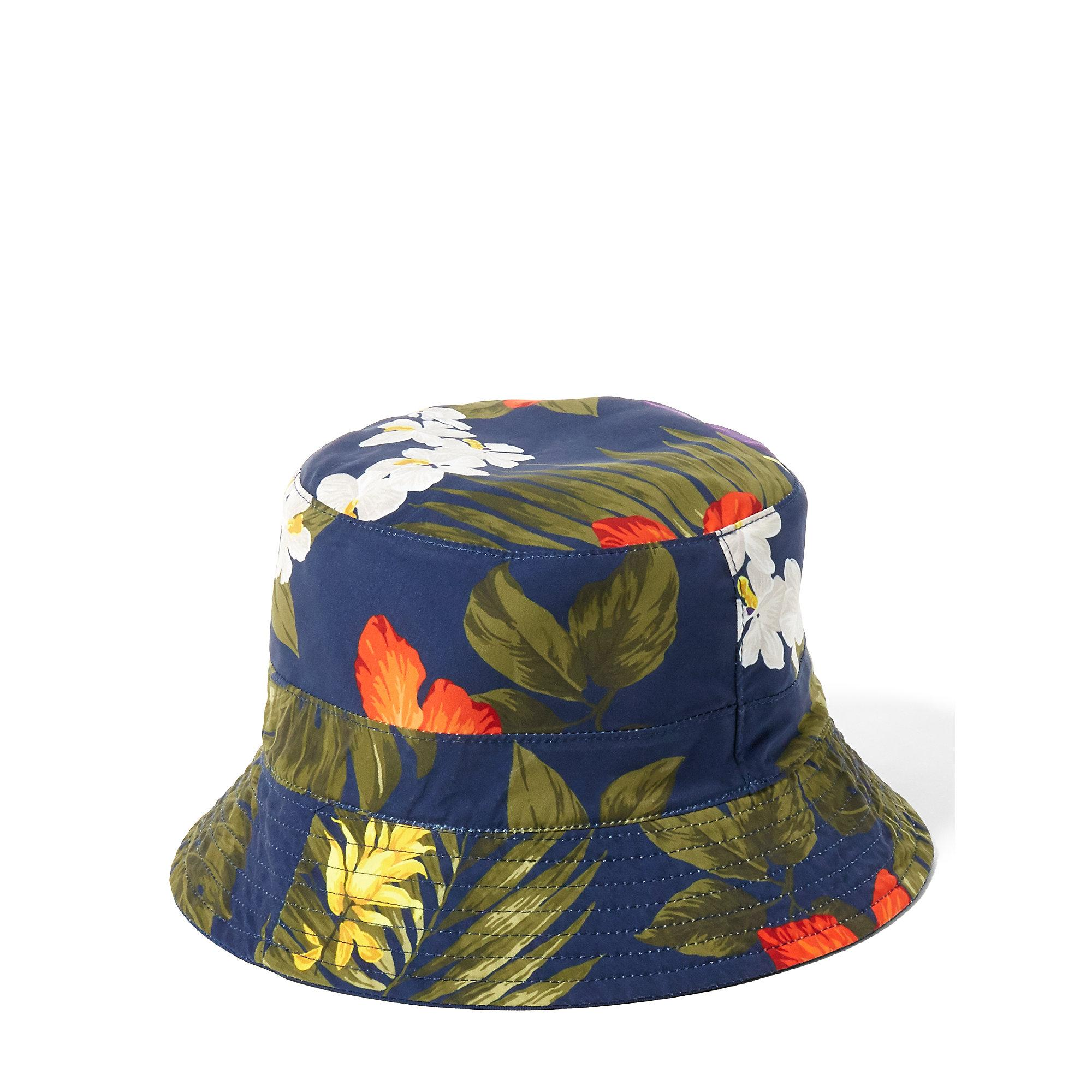 8d4f5a94a8fd3 Polo Ralph Lauren Reversible Twill Bucket Hat in Blue for Men - Lyst
