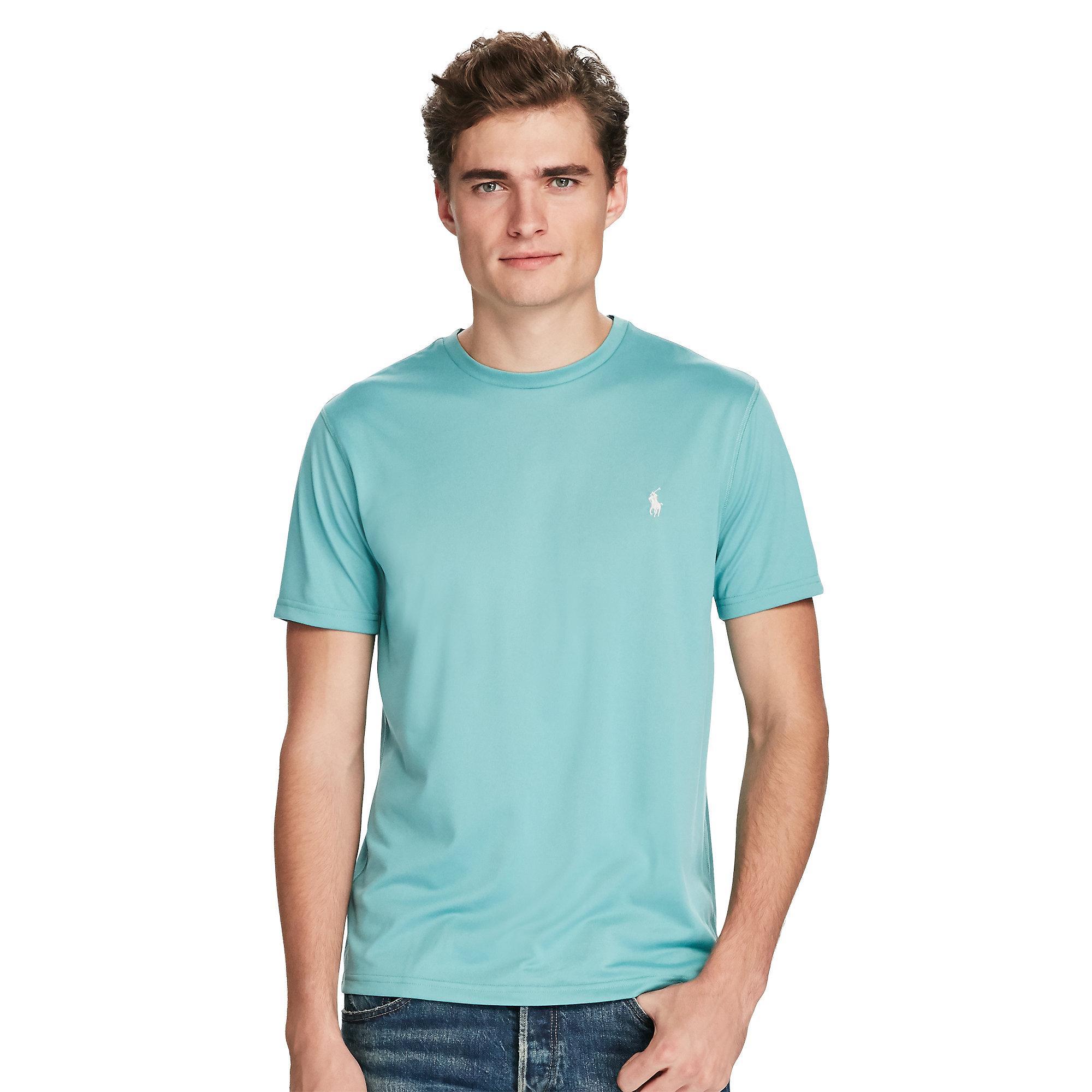 8d50a7dc7 Lyst - Polo Ralph Lauren Performance Jersey T-shirt in Blue for Men