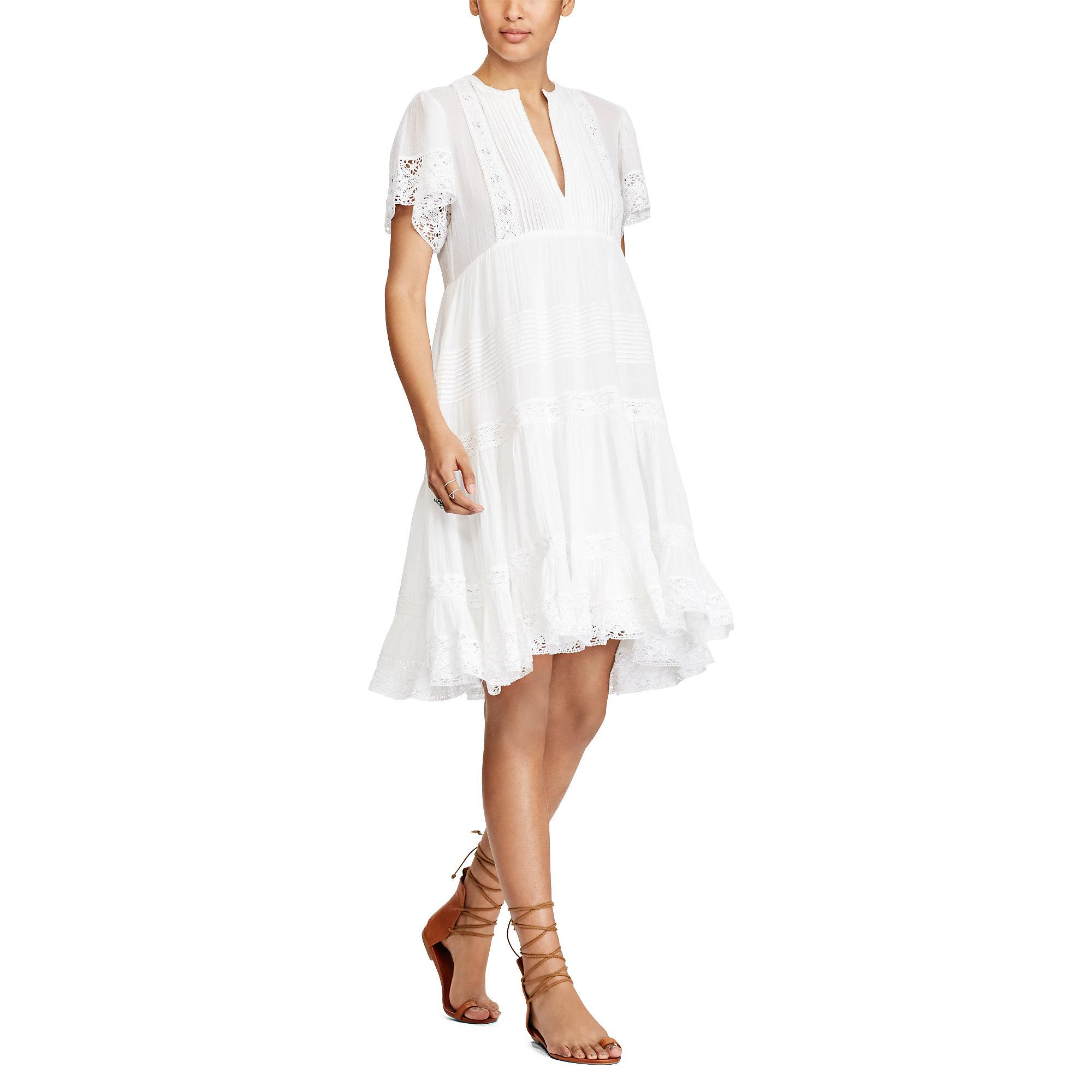 Gallery. Women's White Lace ...