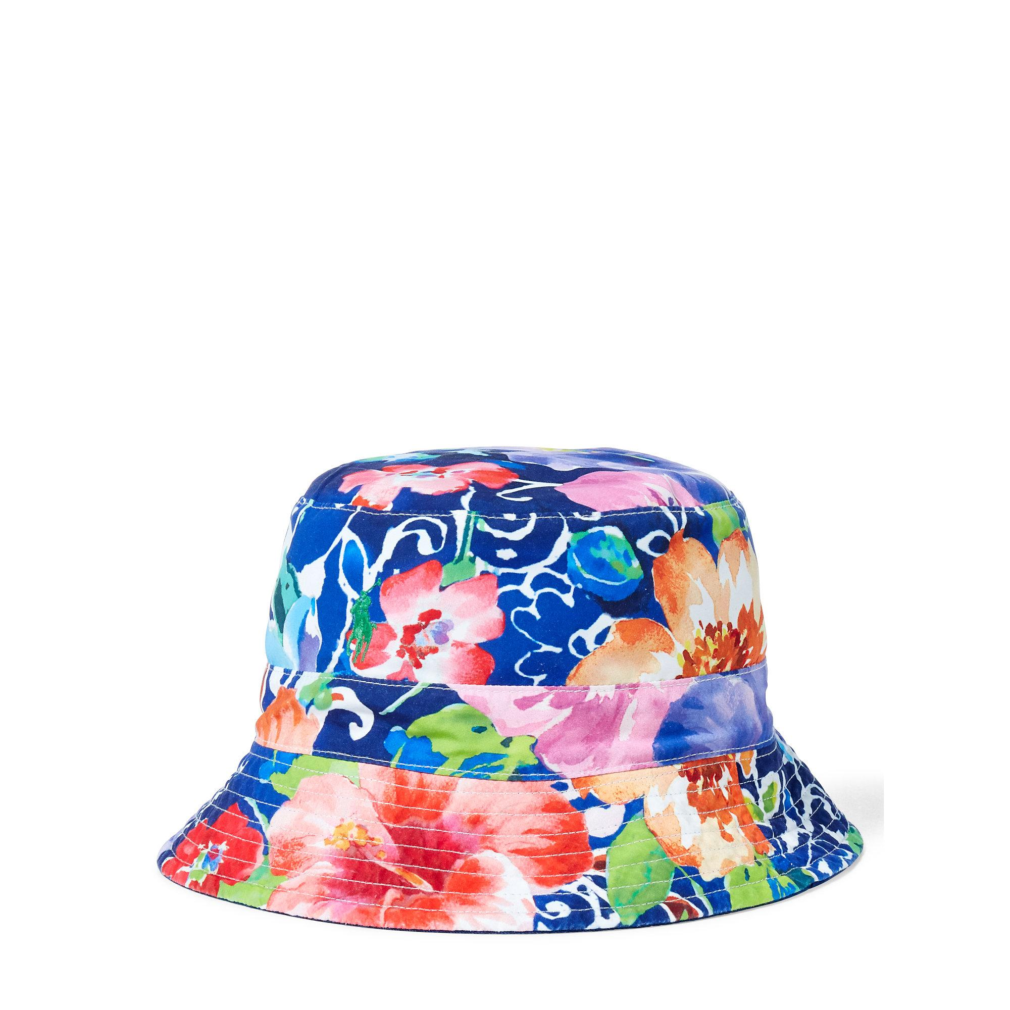 b7ccbca74a5 ... Lyst - Polo Ralph Lauren Reversible Chino Bucket Hat in Blue for Men on  feet at ...
