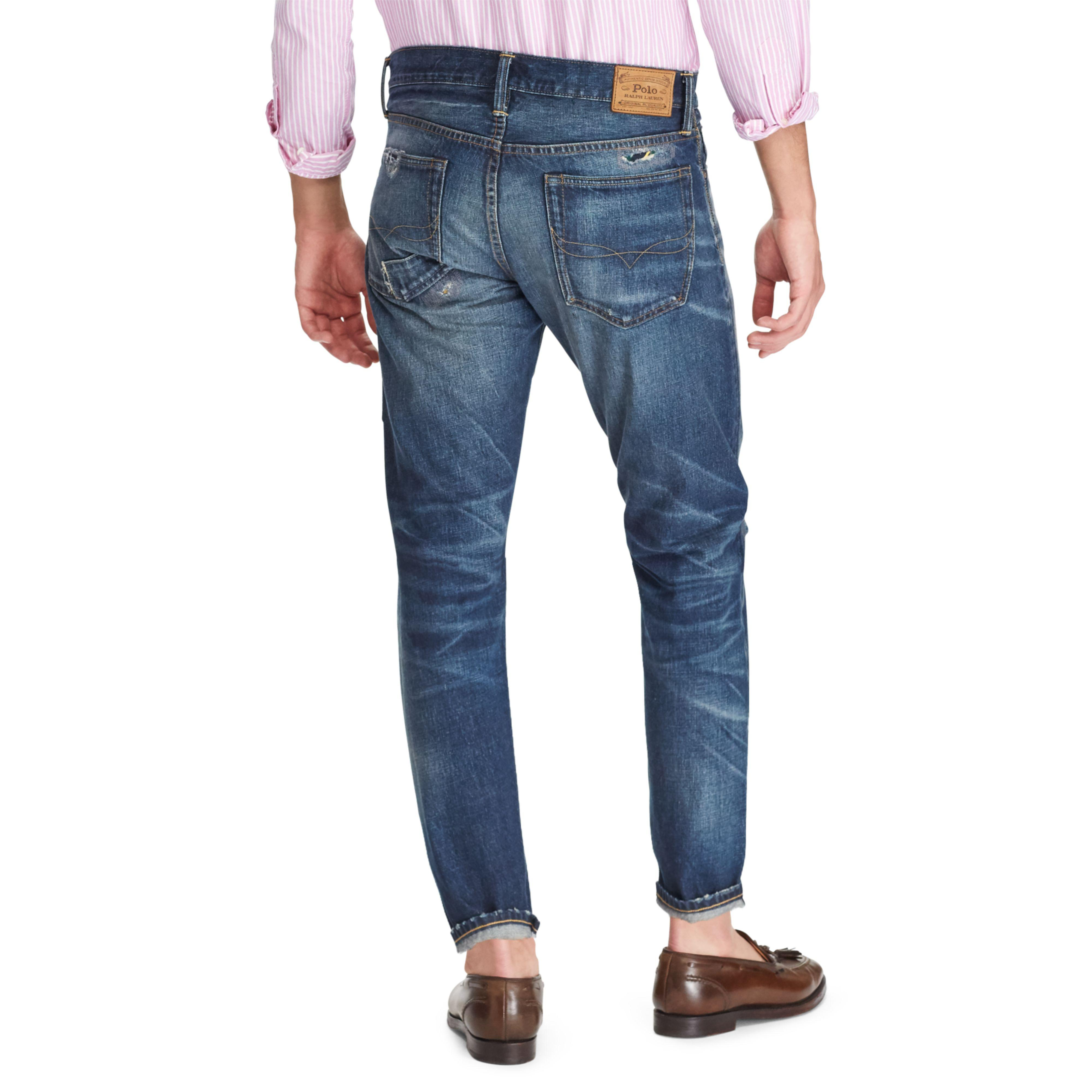 8bd1b2e15 Polo Ralph Lauren Sullivan Slim Cropped Jean in Blue for Men - Lyst
