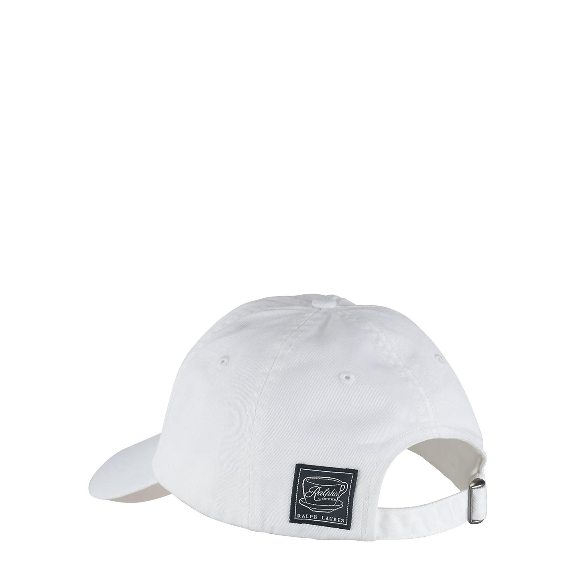 Lyst - Polo Ralph Lauren Ralph s Coffee Hat in White for Men 777ac7a6f666