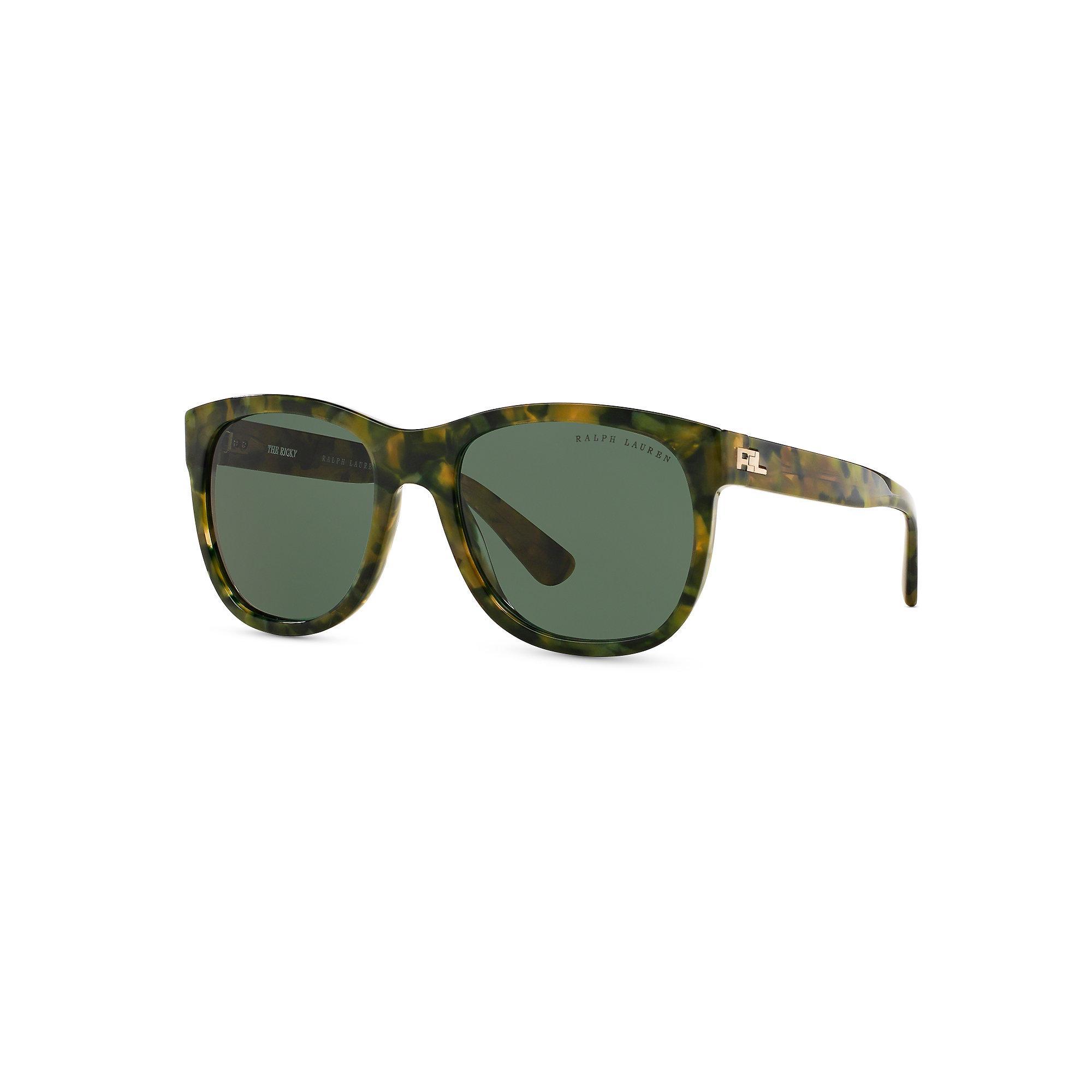 Ralph Lauren Ricky Sunglasses  ralph lauren ricky rl sunglasses in green for men lyst