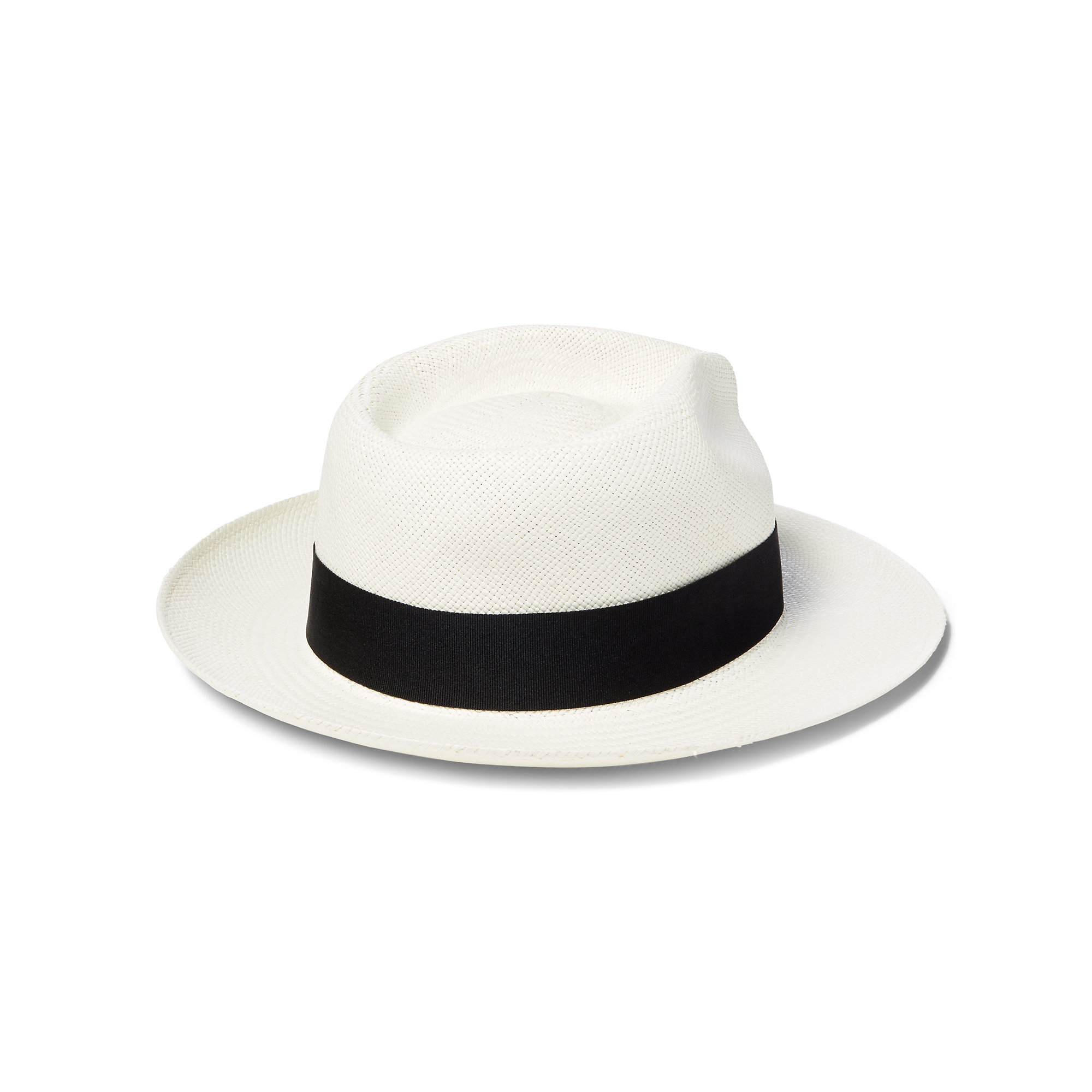 Polo Ralph Lauren Natural Straw Fedora Hat for Men - Lyst