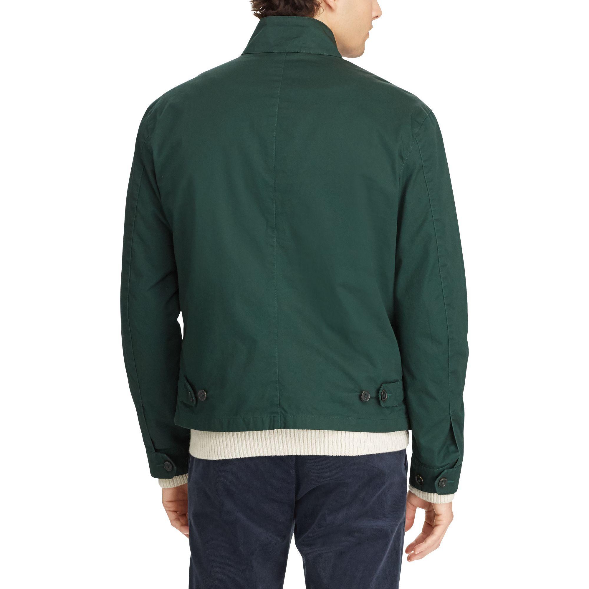 cc7239c3b6dcc7 Lyst - Polo Ralph Lauren Jacke aus Baumwolltwill in Grün für Herren